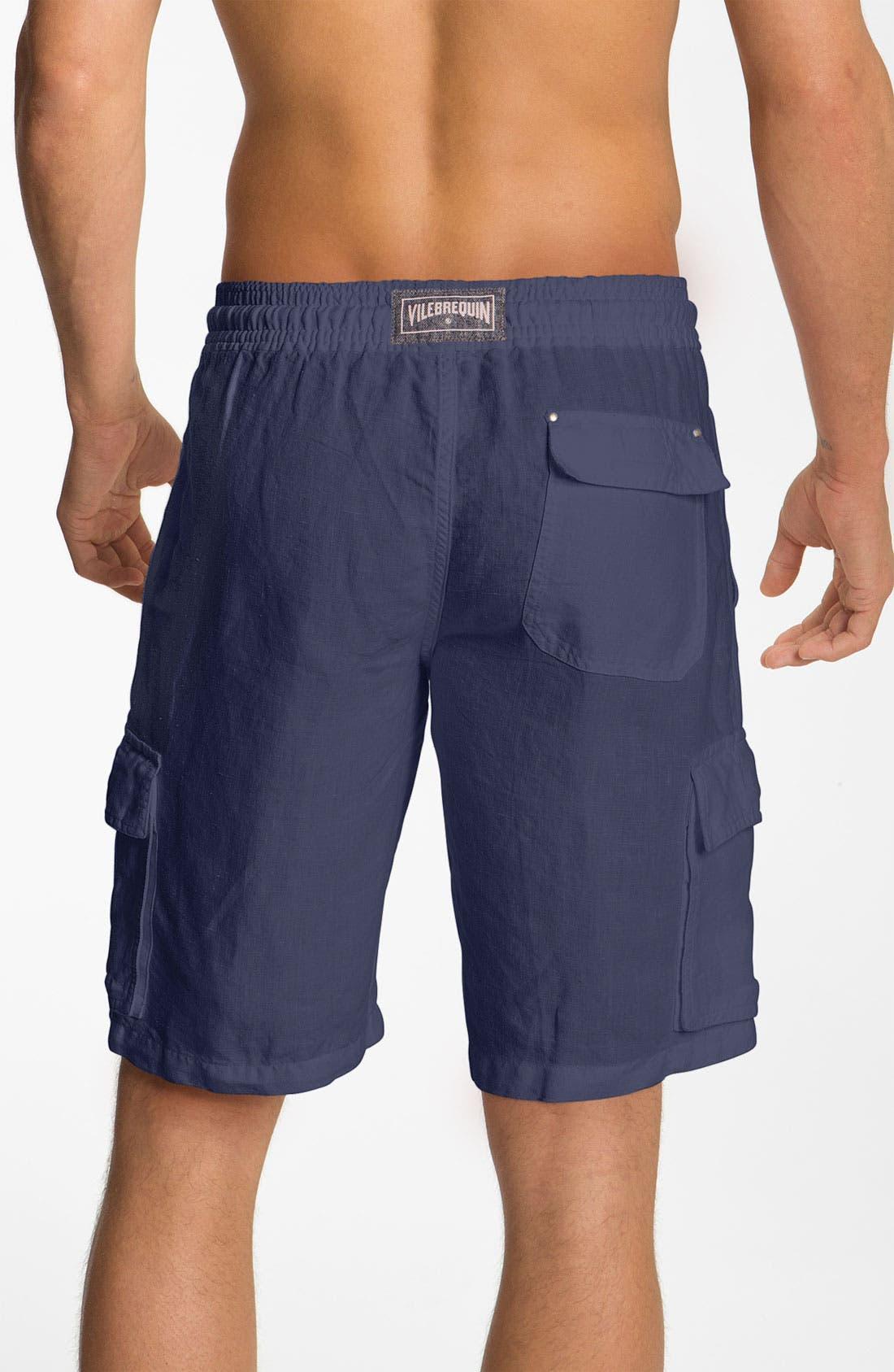 Alternate Image 2  - Vilebrequin 'Baie' Linen Shorts