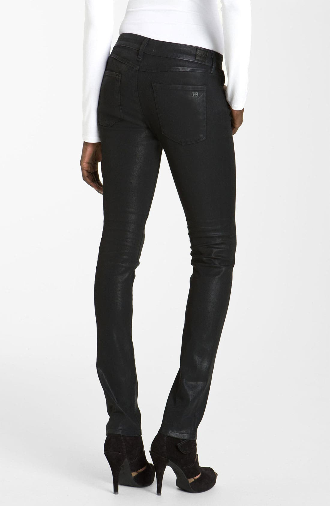 Alternate Image 2  - Habitual 'Alice' Skinny Coated Stretch Jeans