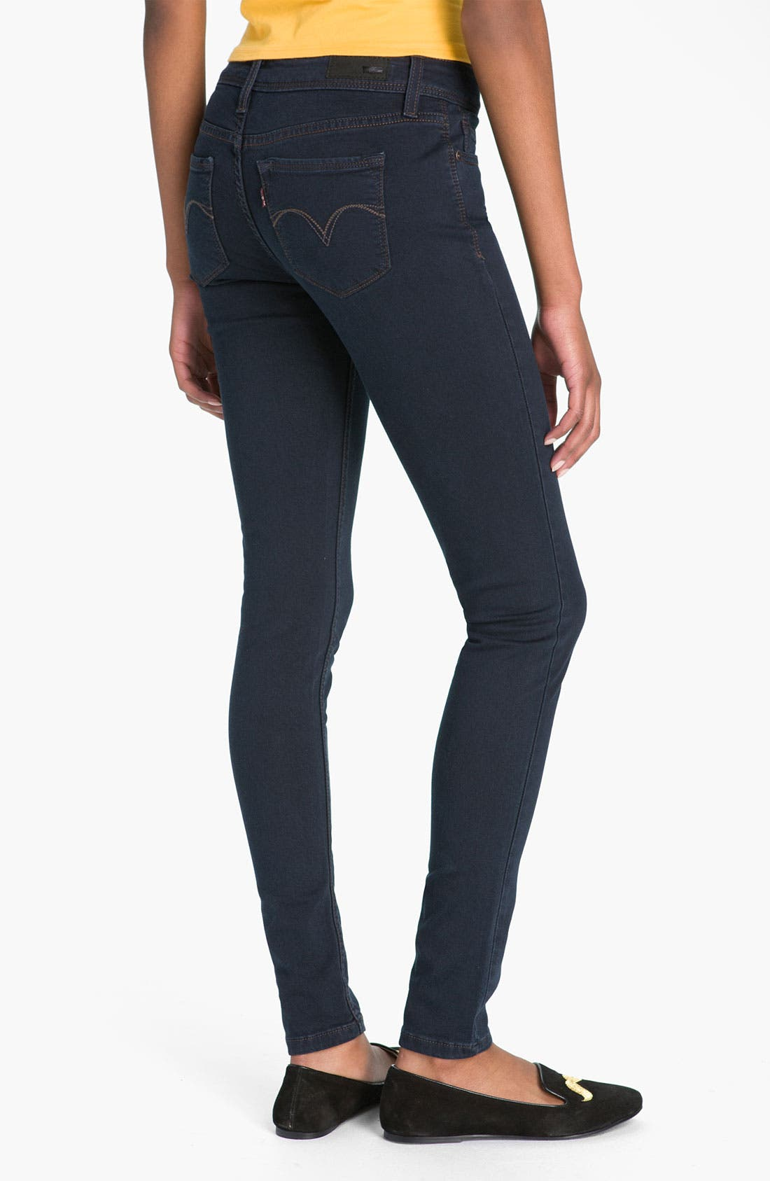 Alternate Image 1 Selected - Levi's Denim Leggings (Indigo Heart Sateen)