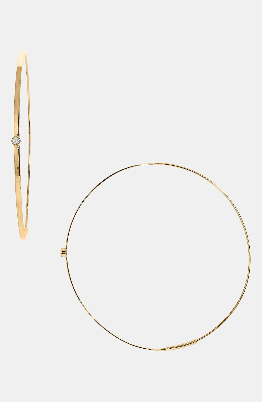 Alternate Image 1 Selected - Lana Jewelry 'Medium Magic' Diamond Hoop Earrings (Nordstrom Exclusive)