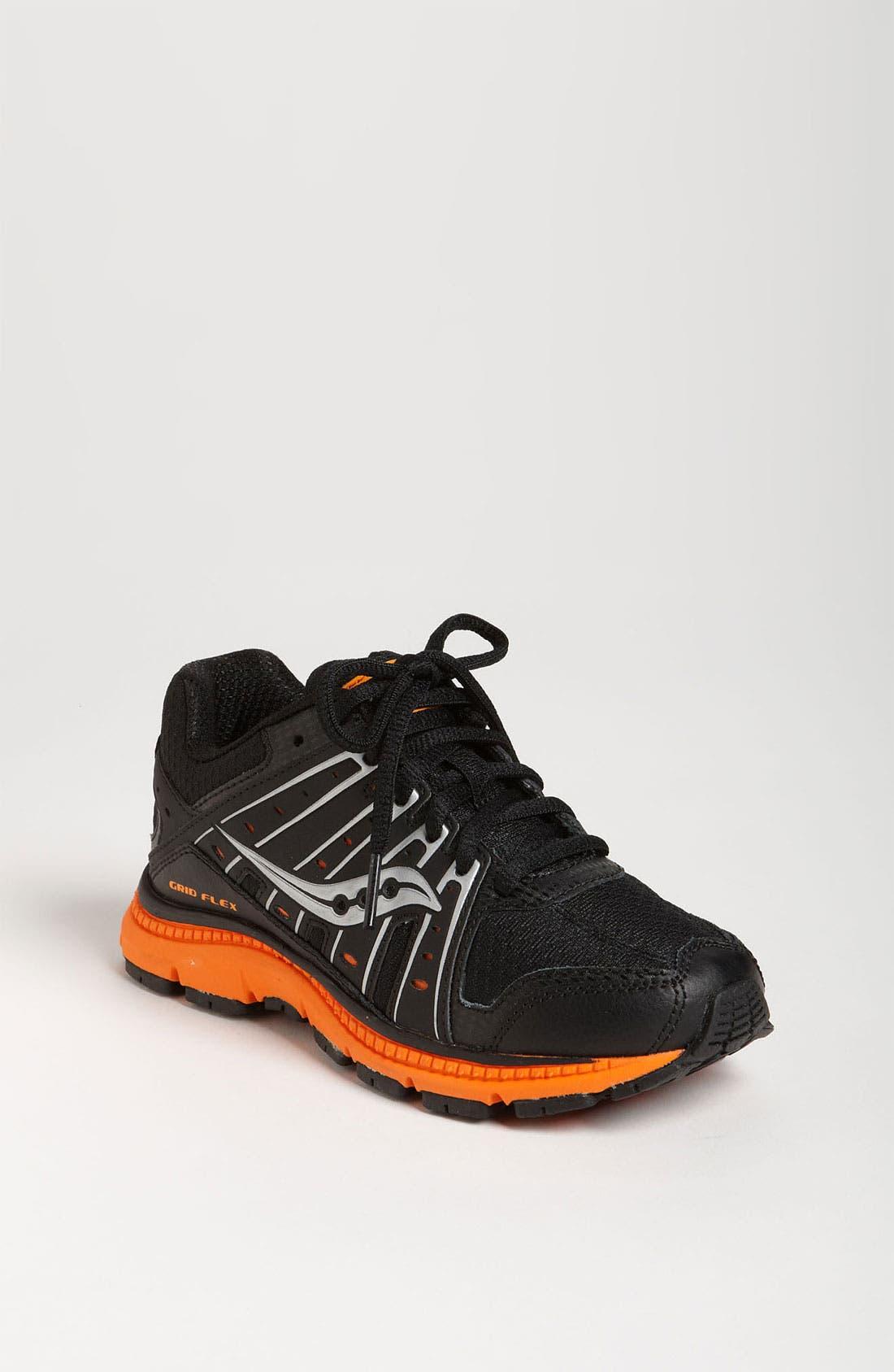 Alternate Image 1 Selected - Saucony 'Grid Flex' Running Shoe (Toddler, Little Kid & Big Kid)