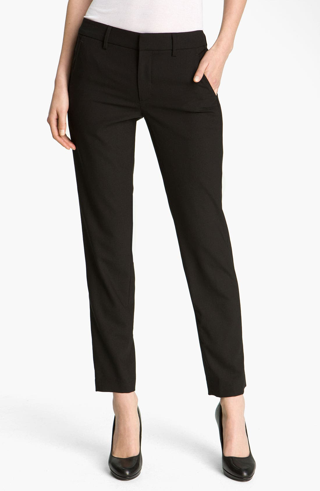 Main Image - Vince 'Side Strapping' Trousers