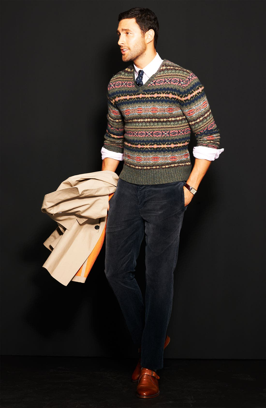 Alternate Image 5  - Polo Ralph Lauren Fair Isle Sweater