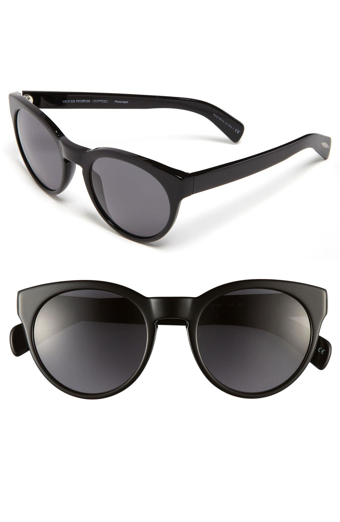 Main Image - Oliver Peoples 52mm Polarized Sunglasses