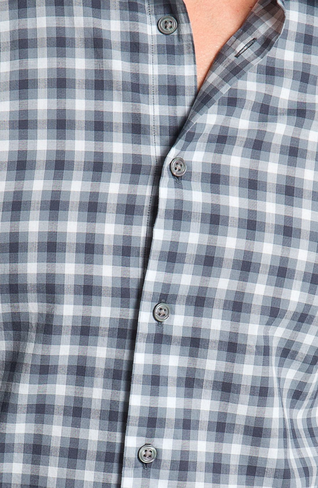 Alternate Image 3  - John Varvatos Star USA Wire Collar Sport Shirt