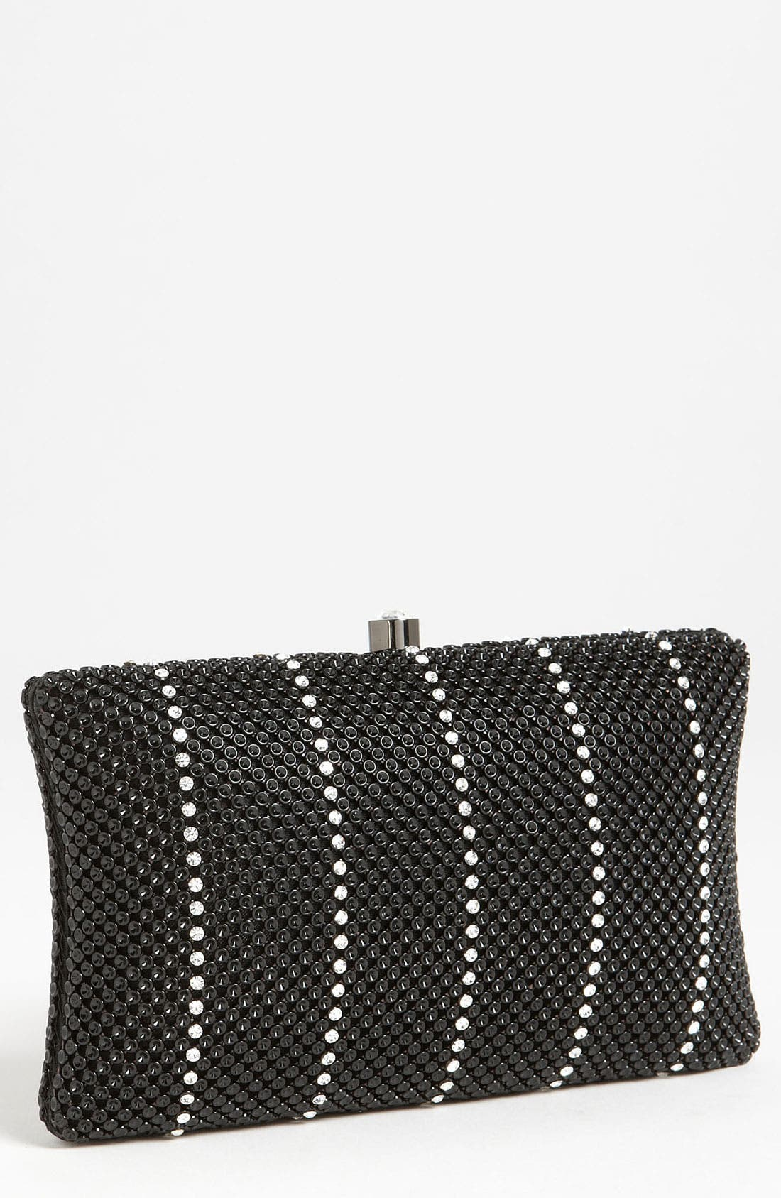 Alternate Image 1 Selected - Whiting & Davis 'Crystal Stripe' Clutch