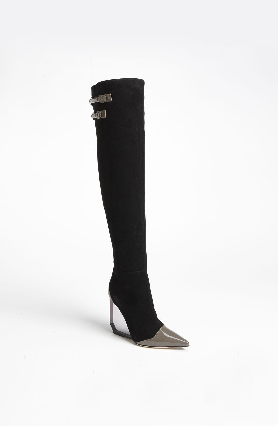 Alternate Image 1 Selected - Pollini Wedge Over the Knee Boot