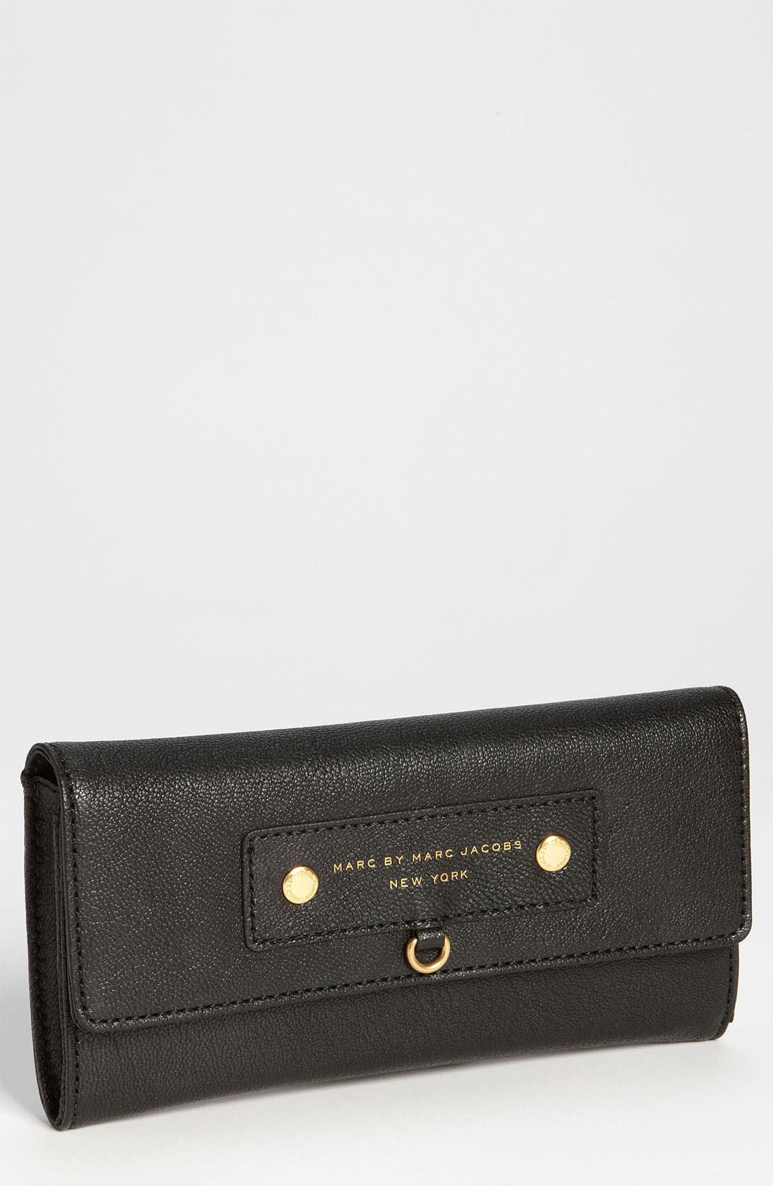 Main Image - MARC BY MARC JACOBS 'Preppy Leather' Continental Wallet