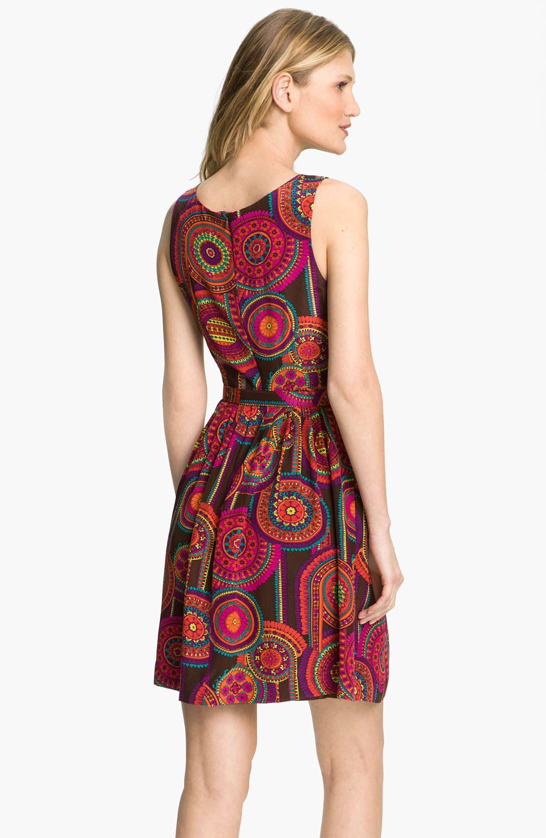 Alternate Image 2  - Trina Turk 'Millicent 2' Silk Fit & Flare Dress