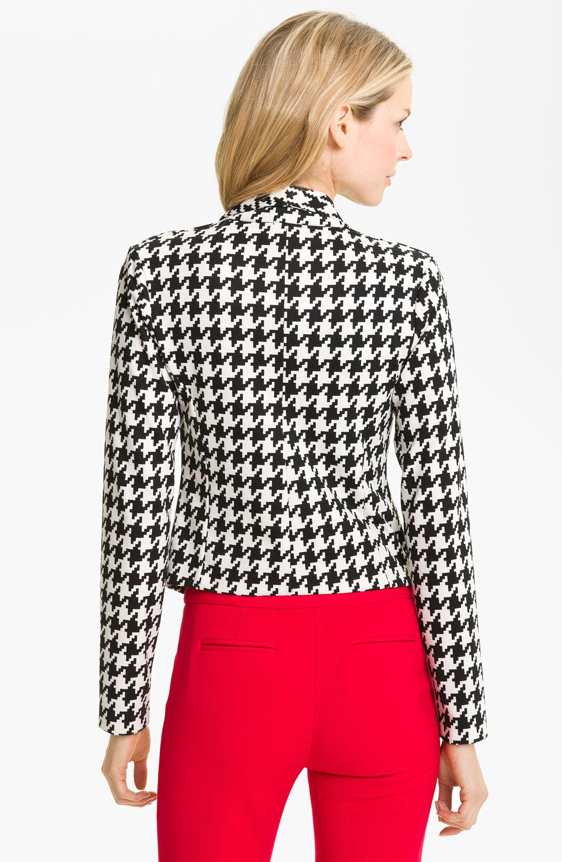 Alternate Image 2  - Anne Klein Houndstooth Jacket