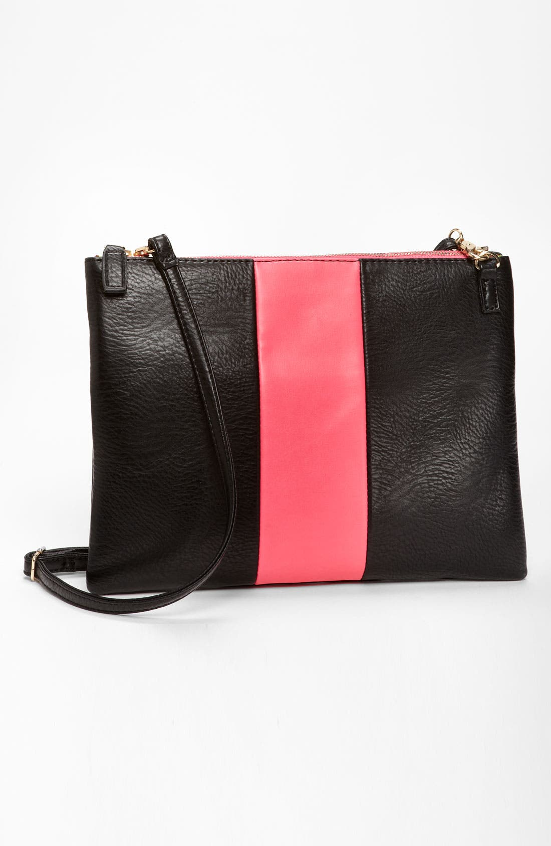 Main Image - Street Level Colorblock Convertible Clutch
