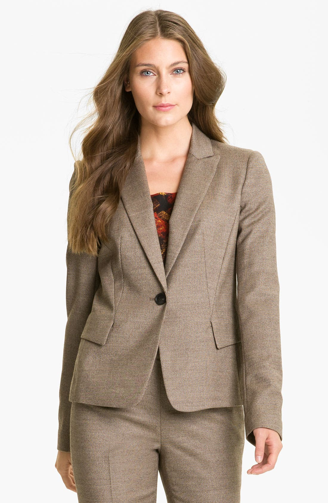 Main Image - Lafayette 148 New York 'Poised' Suiting Jacket