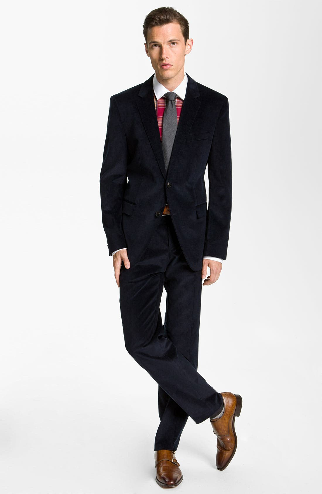 Alternate Image 3  - BOSS Black Slim Fit Dress Shirt