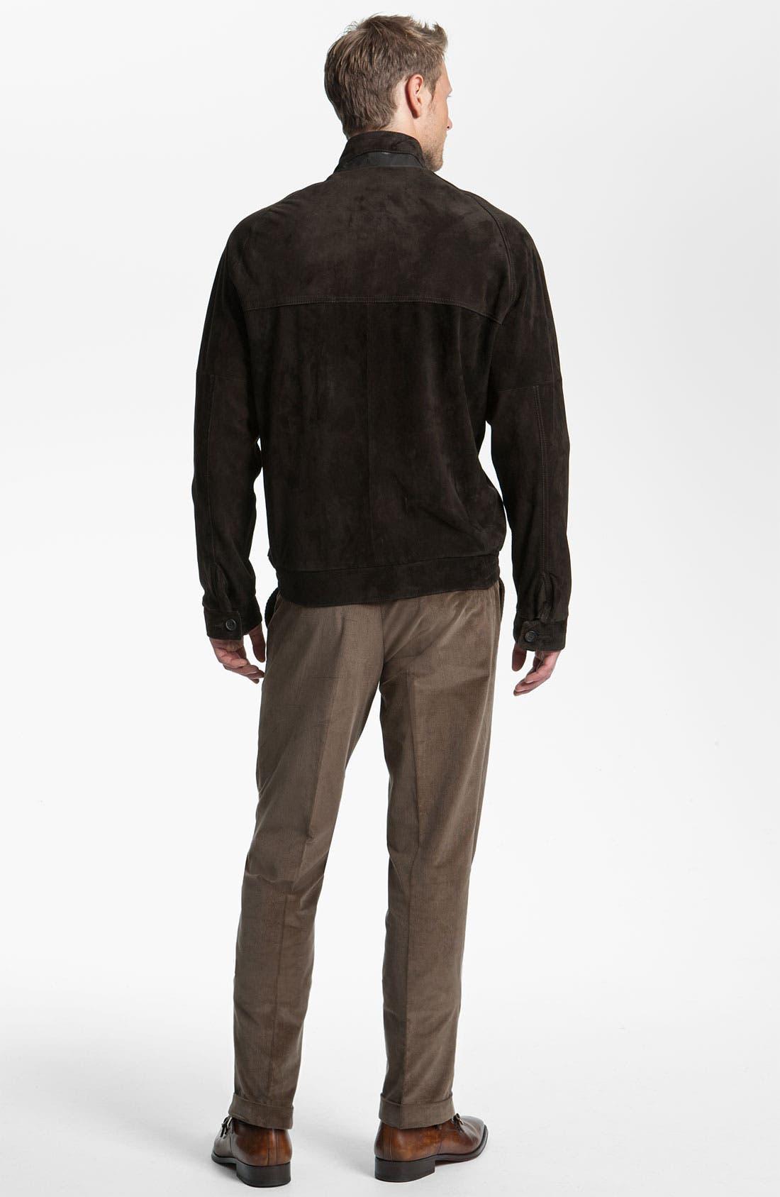 Alternate Image 5  - Remy Leather Calf Suede Barracuda Jacket