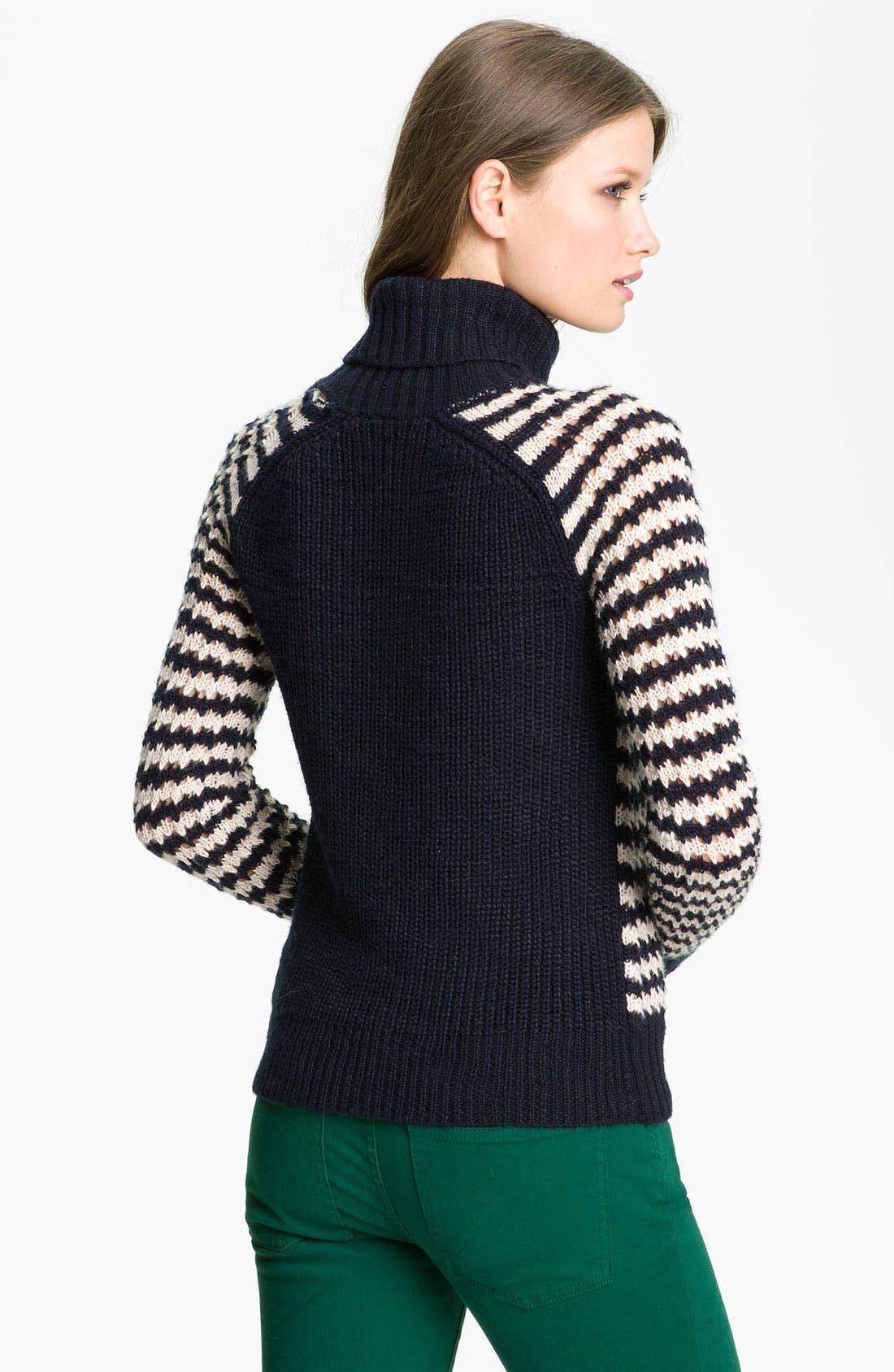 Alternate Image 2  - Tory Burch 'Carey' Turtleneck Sweater