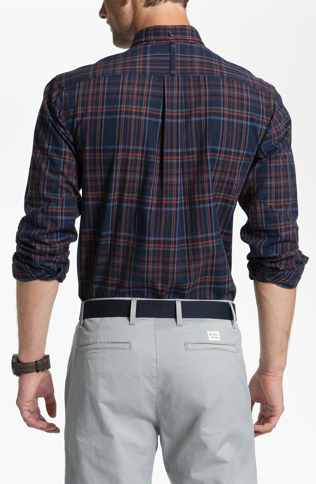 Alternate Image 2  - Fred Perry Check Sport Shirt