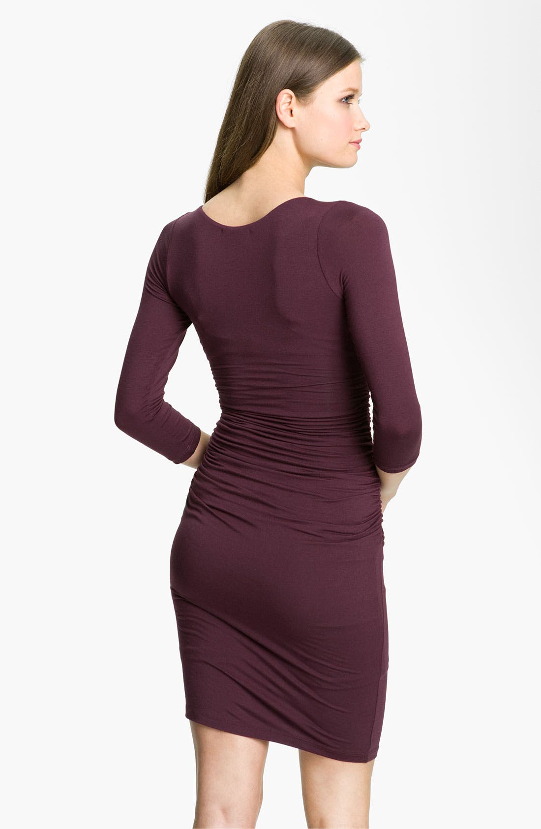 Alternate Image 2  - Velvet by Graham & Spencer Surplice Jersey Sheath Dress