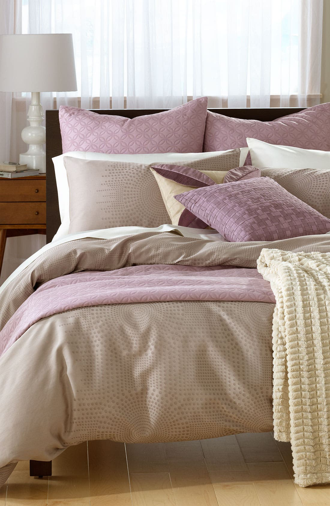 Alternate Image 2  - Nordstrom at Home 'Raindrops' Jacquard Duvet Cover