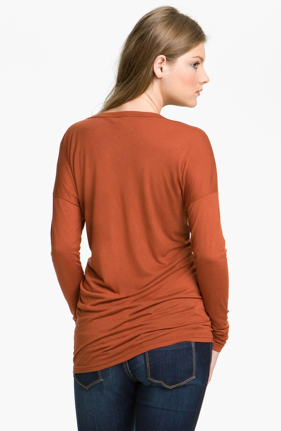 Alternate Image 2  - Rubbish® Drop Shoulder Dolman Top (Juniors)