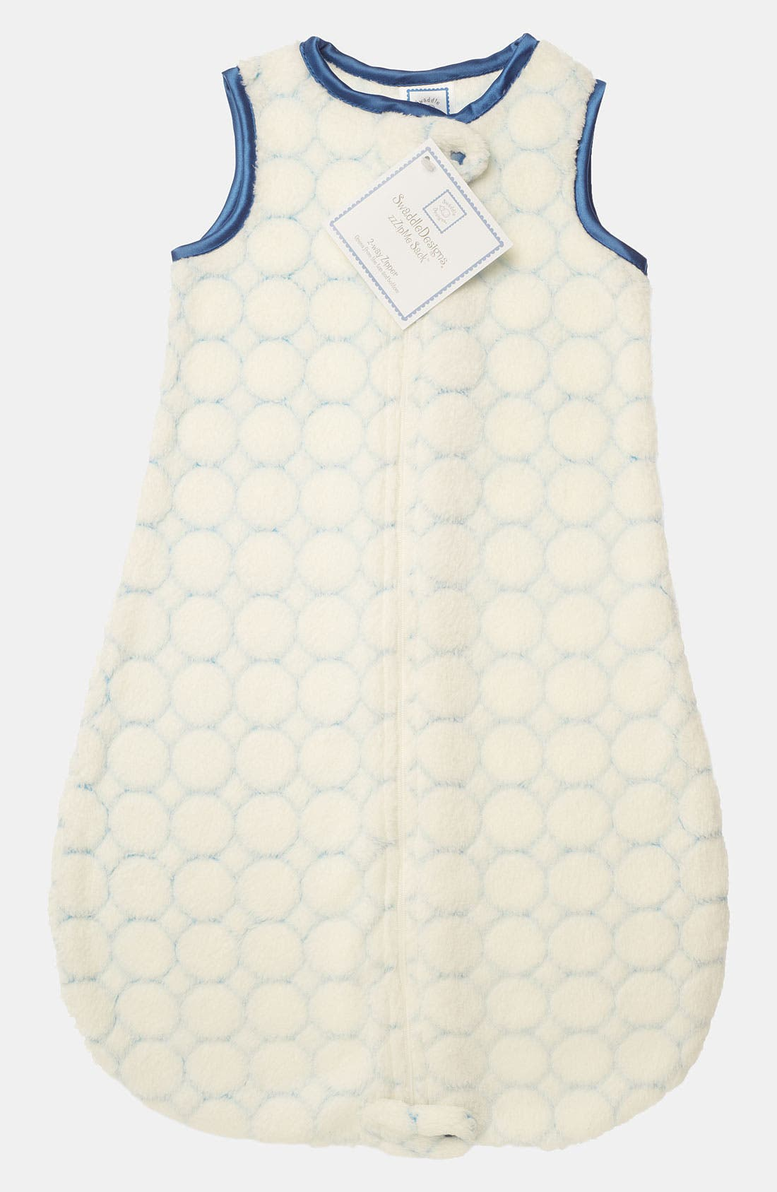 Main Image - Swaddle Designs 'zzZipme' Fuzzy Wearable Blanket (Baby)