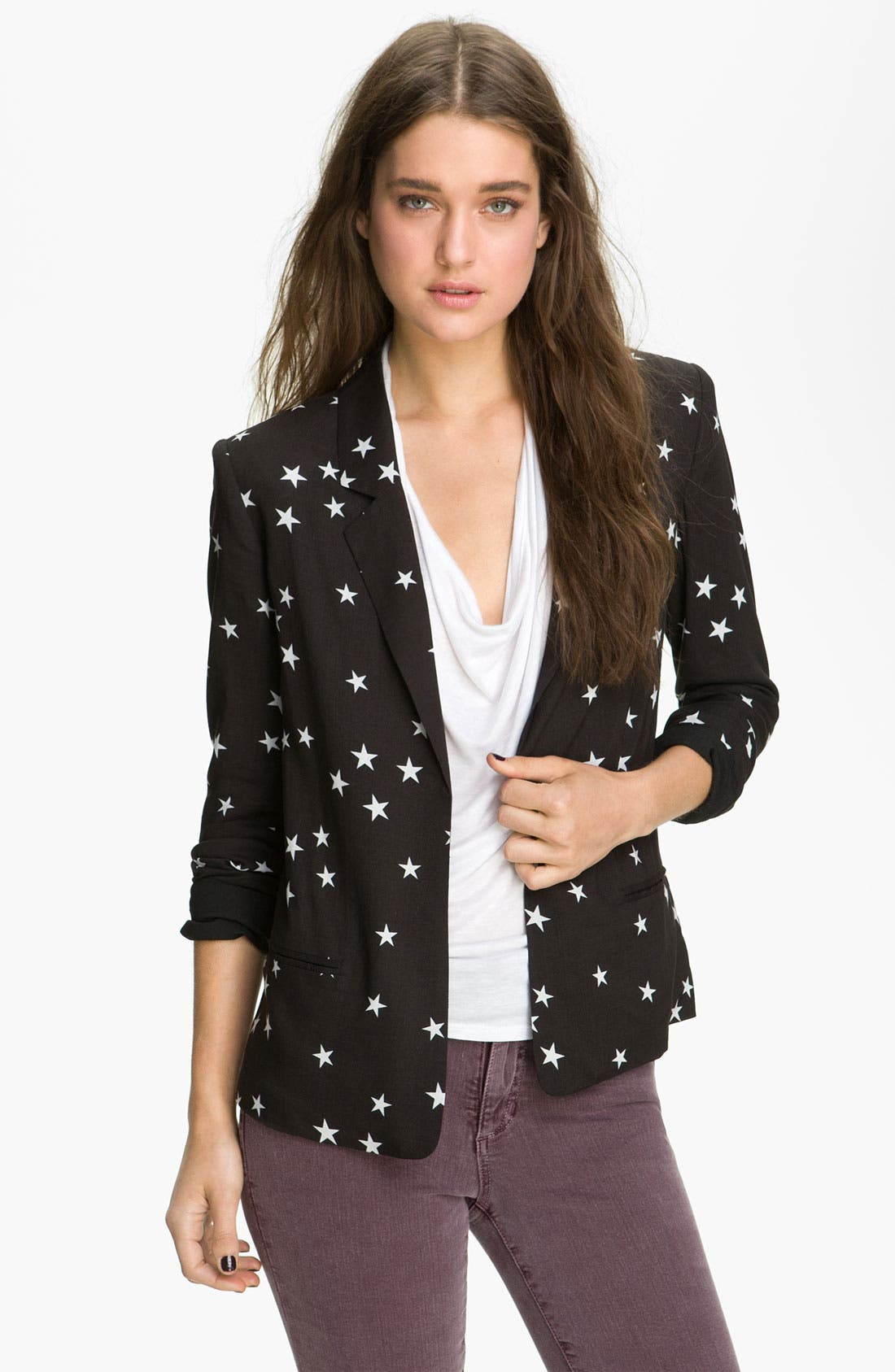 Alternate Image 1 Selected - Patterson J. Kincaid 'Ricci' Print Blazer