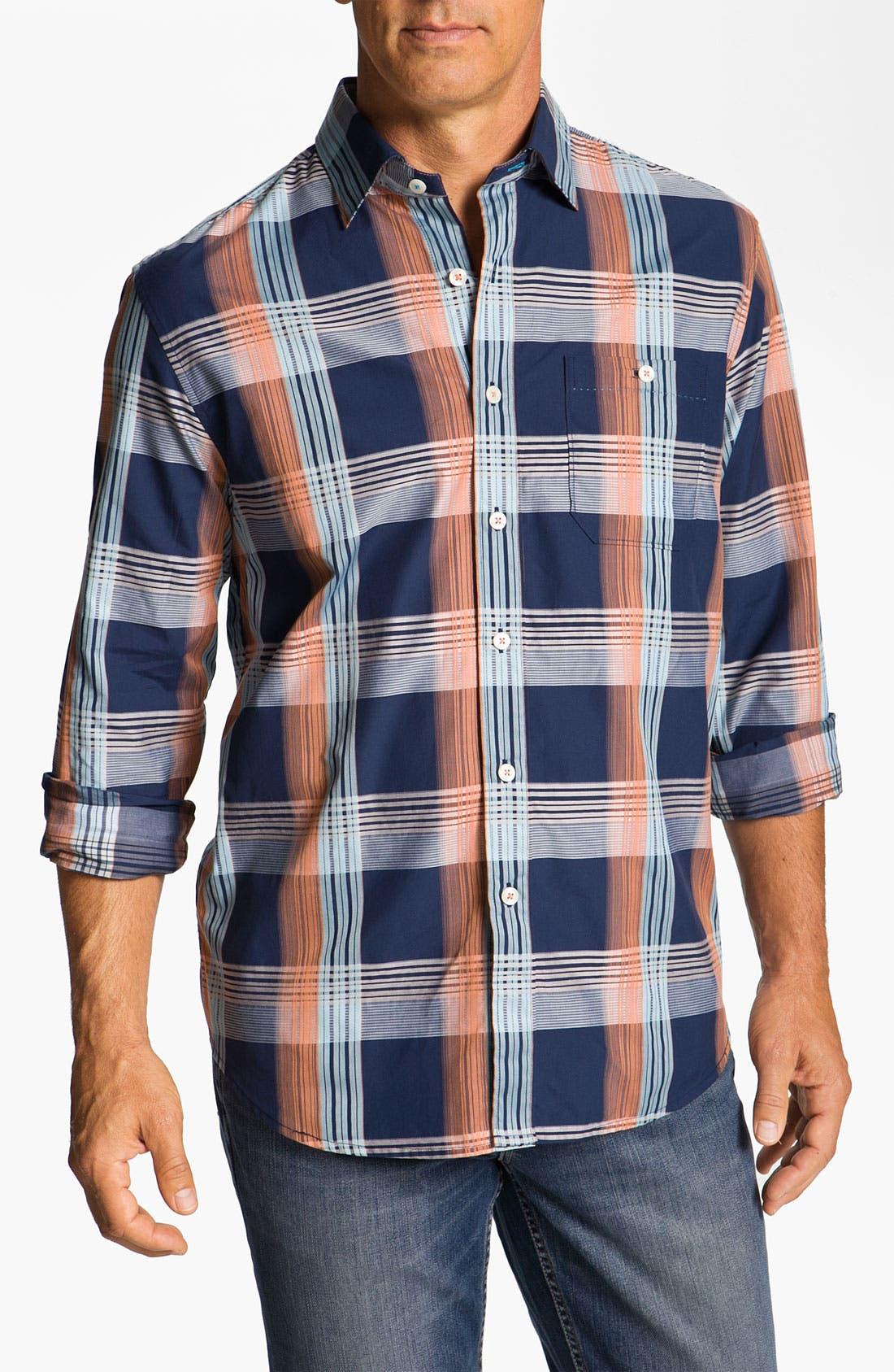 Main Image - Tommy Bahama 'Tamarind Plain' Sport Shirt