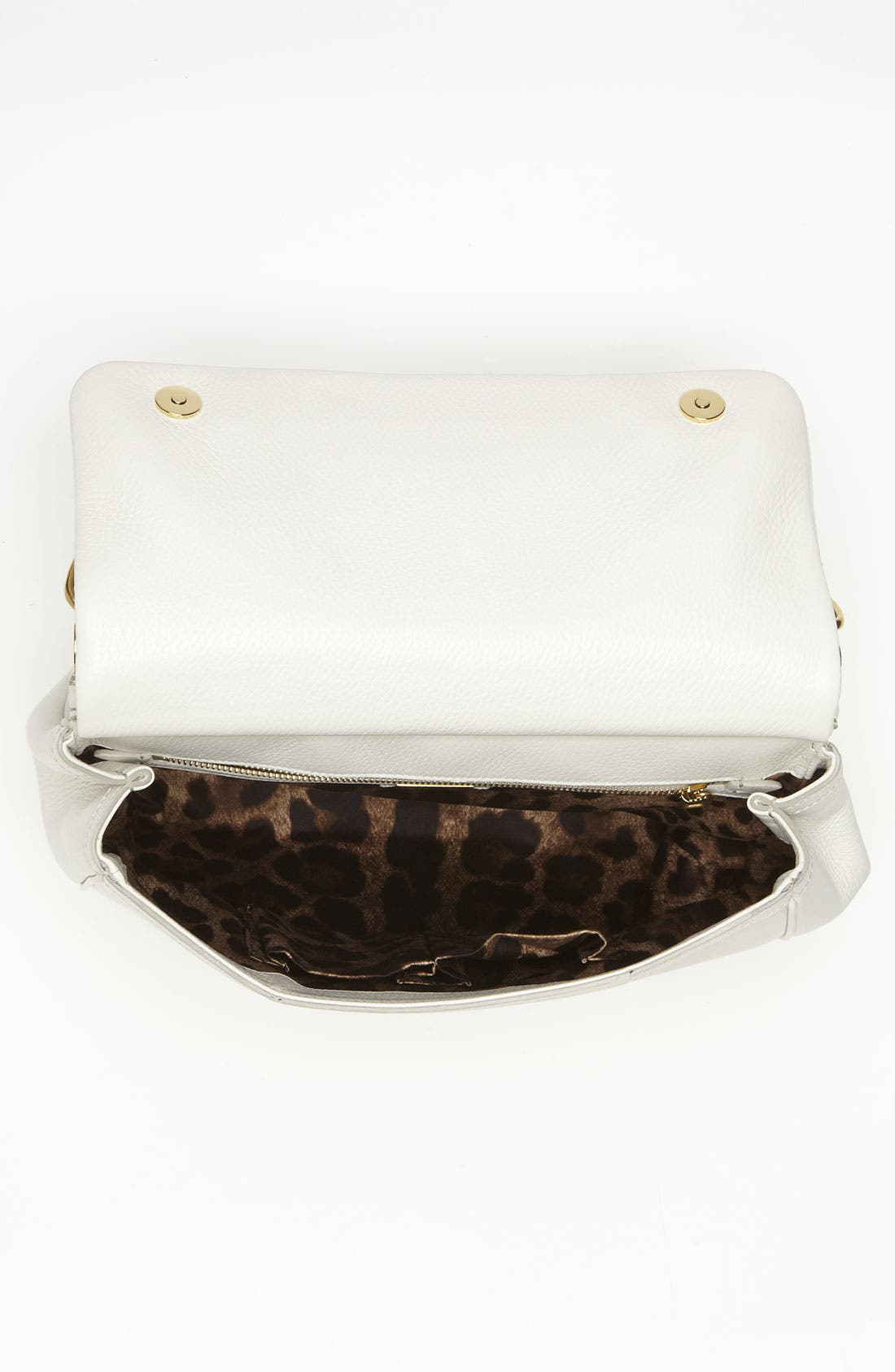 Alternate Image 3  - Dolce&Gabbana 'Flat Miss Sicily - Large' Leather Satchel