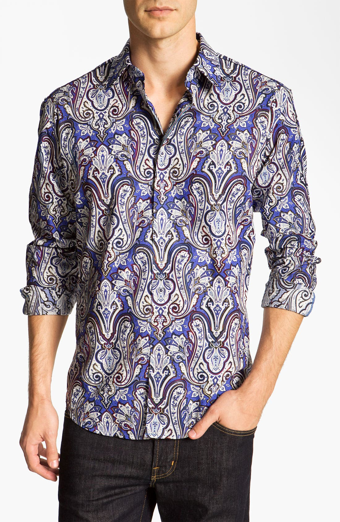 Main Image - Robert Graham 'Casey' Sport Shirt