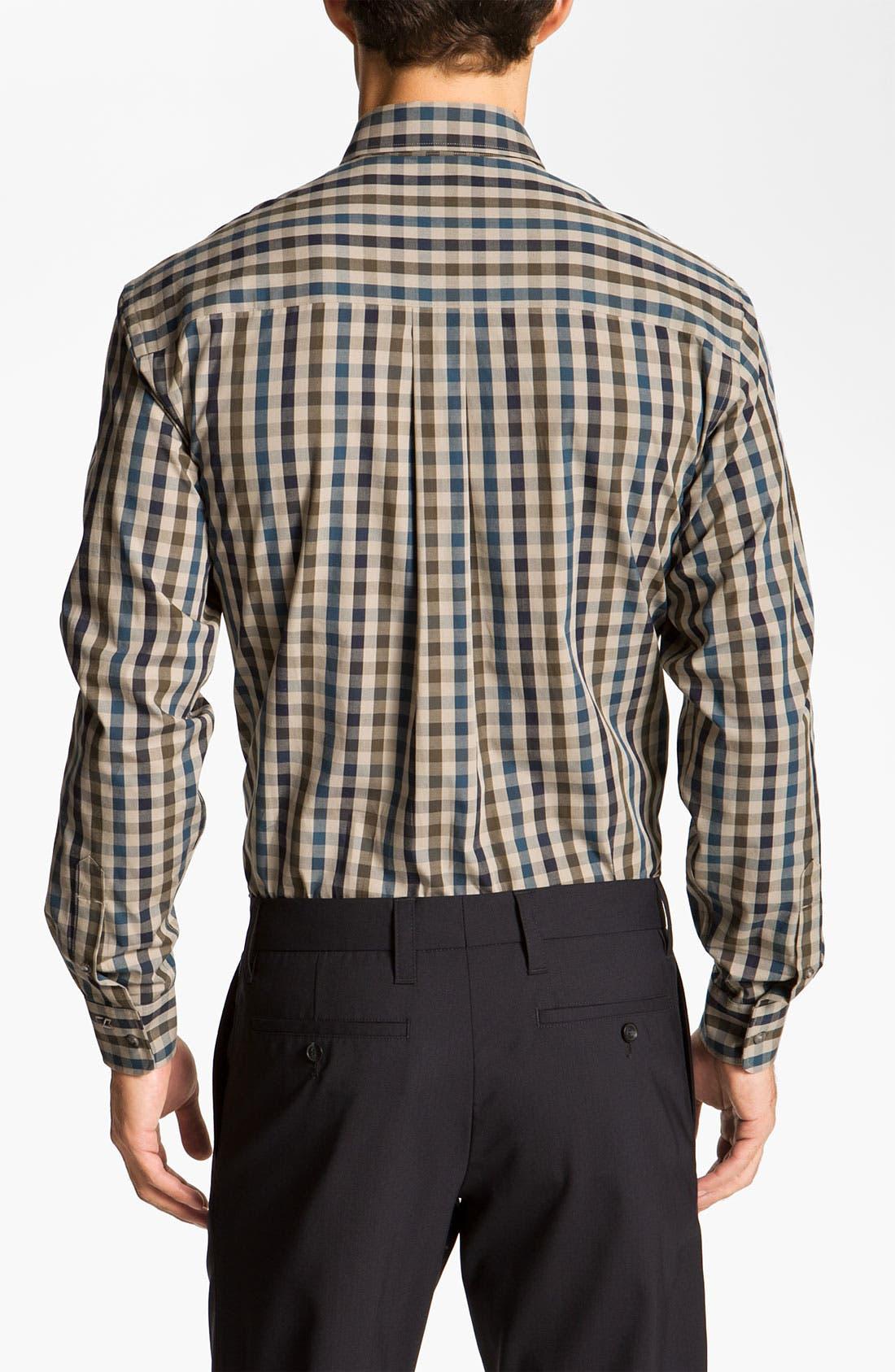Alternate Image 2  - Cutter & Buck 'Golden Horn' Check Sport Shirt