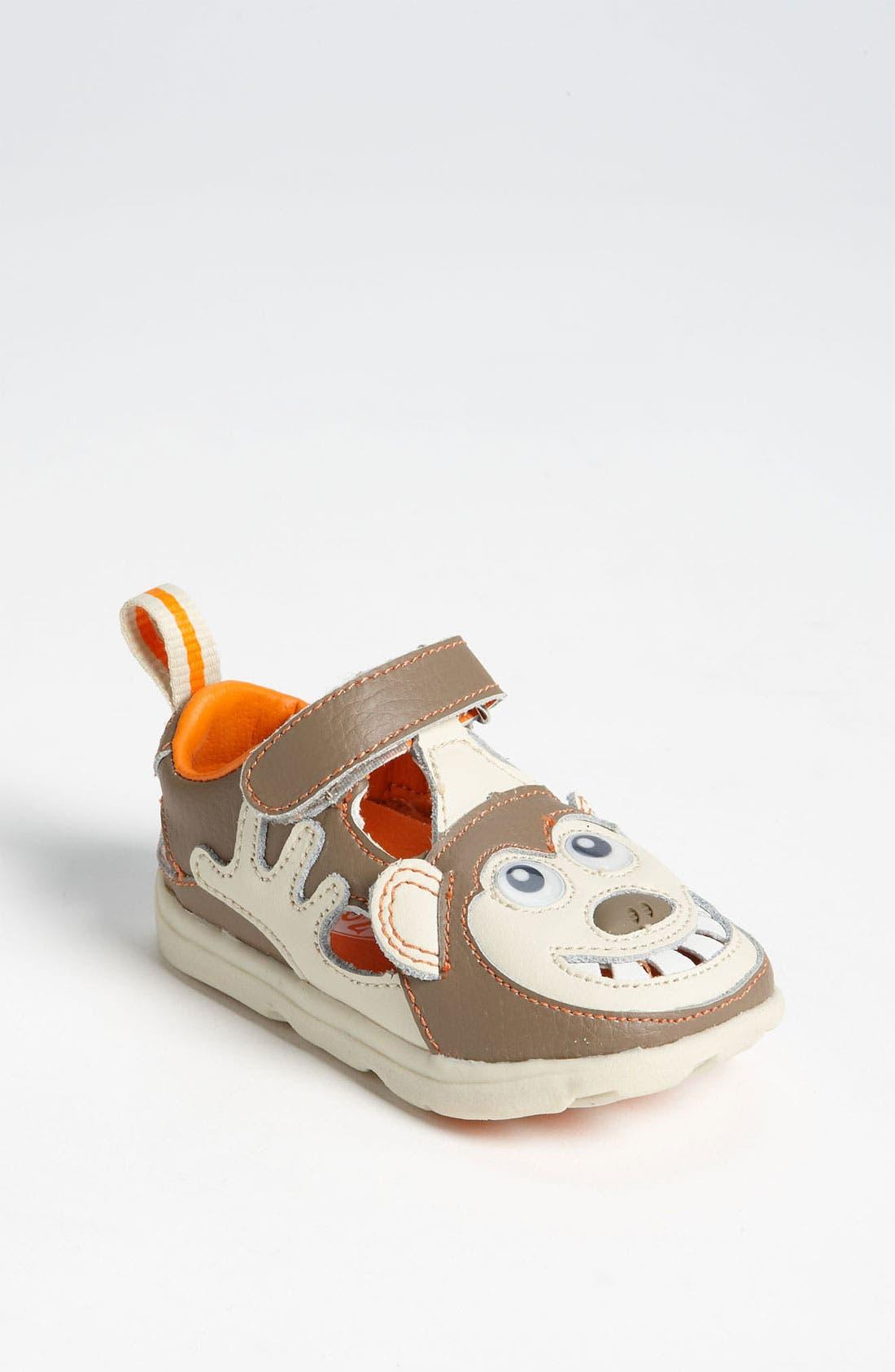 Alternate Image 1 Selected - Zooligans™ 'Monkey' Sport Sandal (Baby, Walker & Toddler)