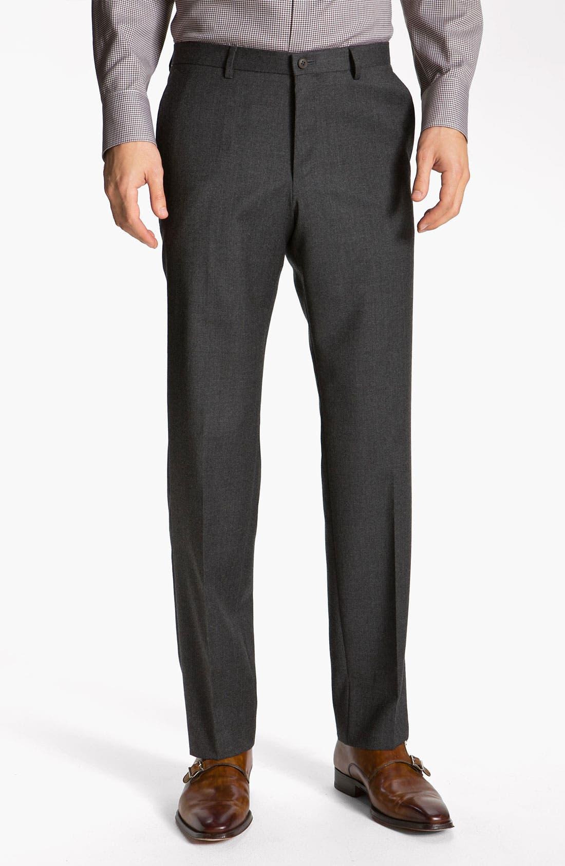 Alternate Image 4  - BOSS Black 'Key/Shaft' Trim Fit Suit