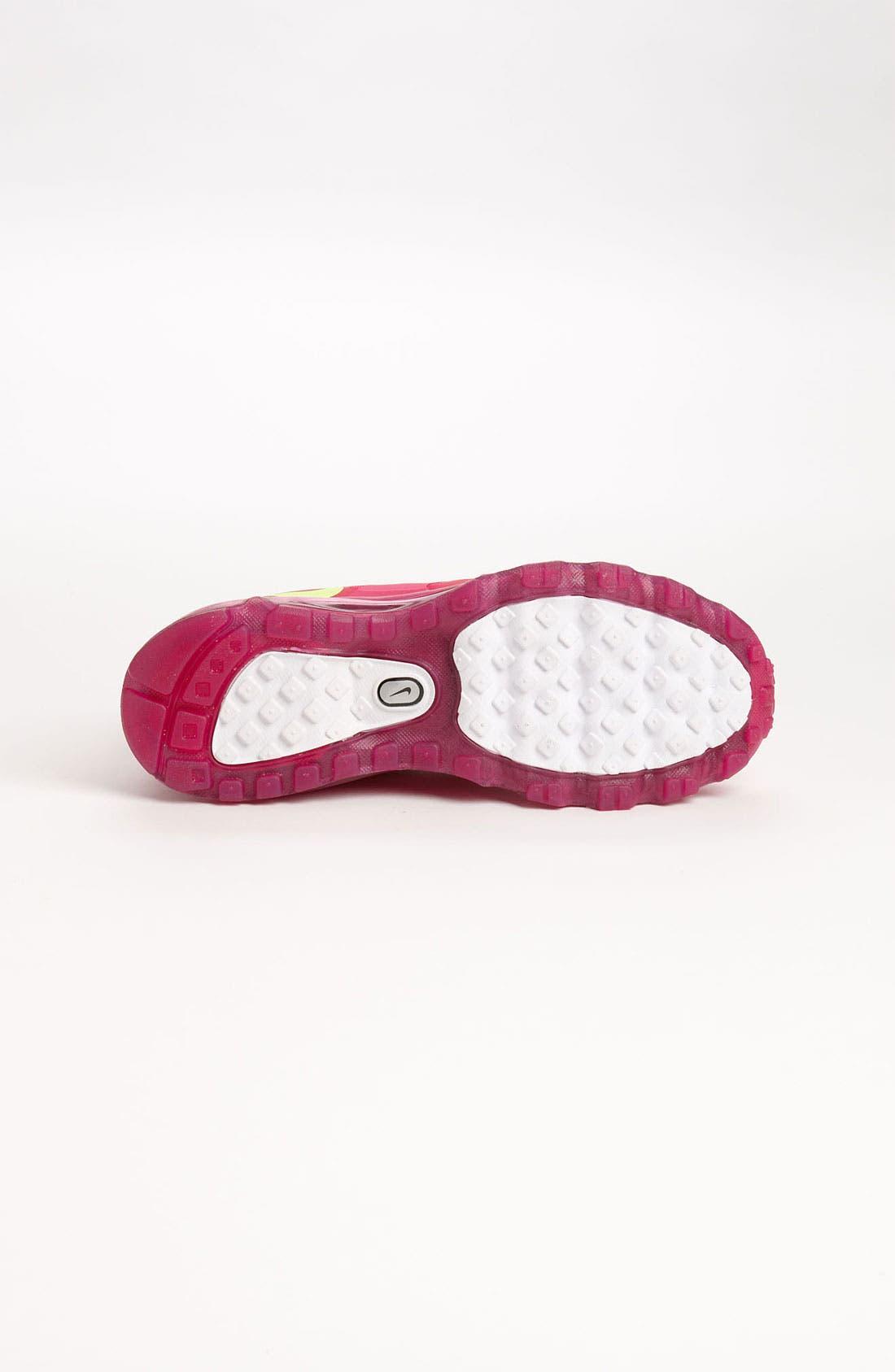 Alternate Image 4  - Nike 'Air Max 2012' Running Shoe (Big Kid)