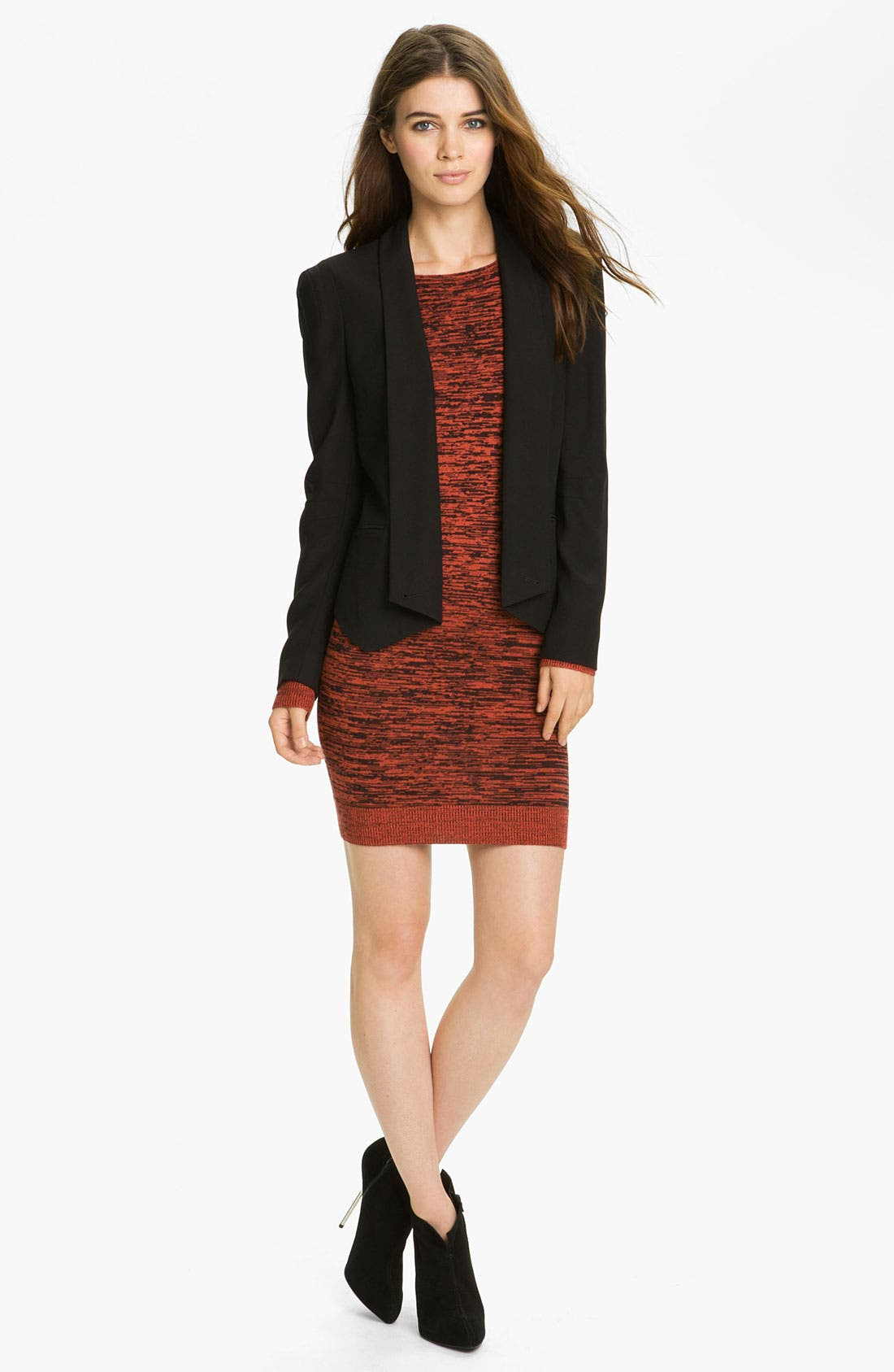 Alternate Image 4  - Rebecca Minkoff 'Essef' Silk & Cashmere Sweater Dress