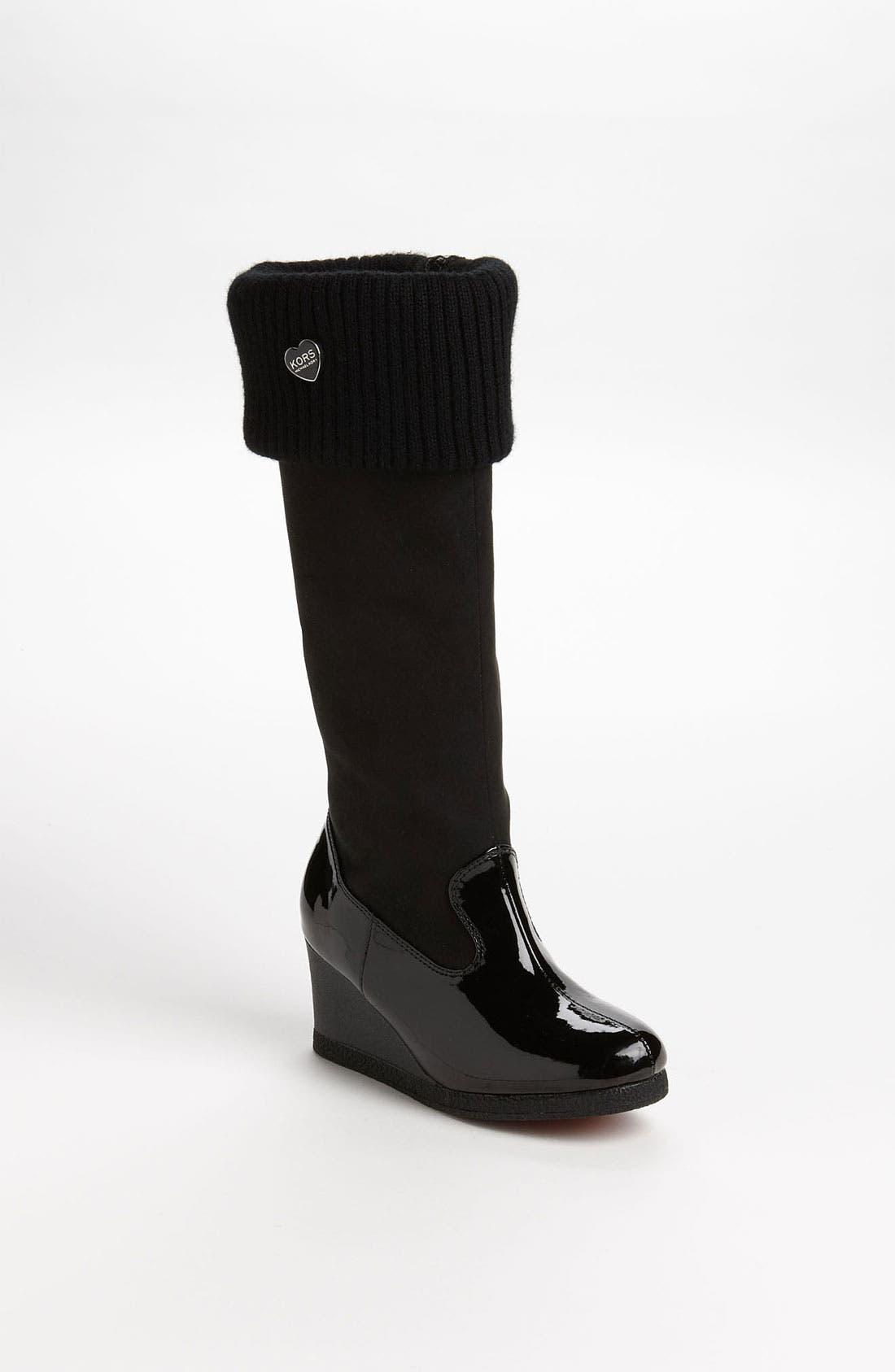 Main Image - KORS Michael Kors 'Pavia' Boot (Little Kid & Big Kid)