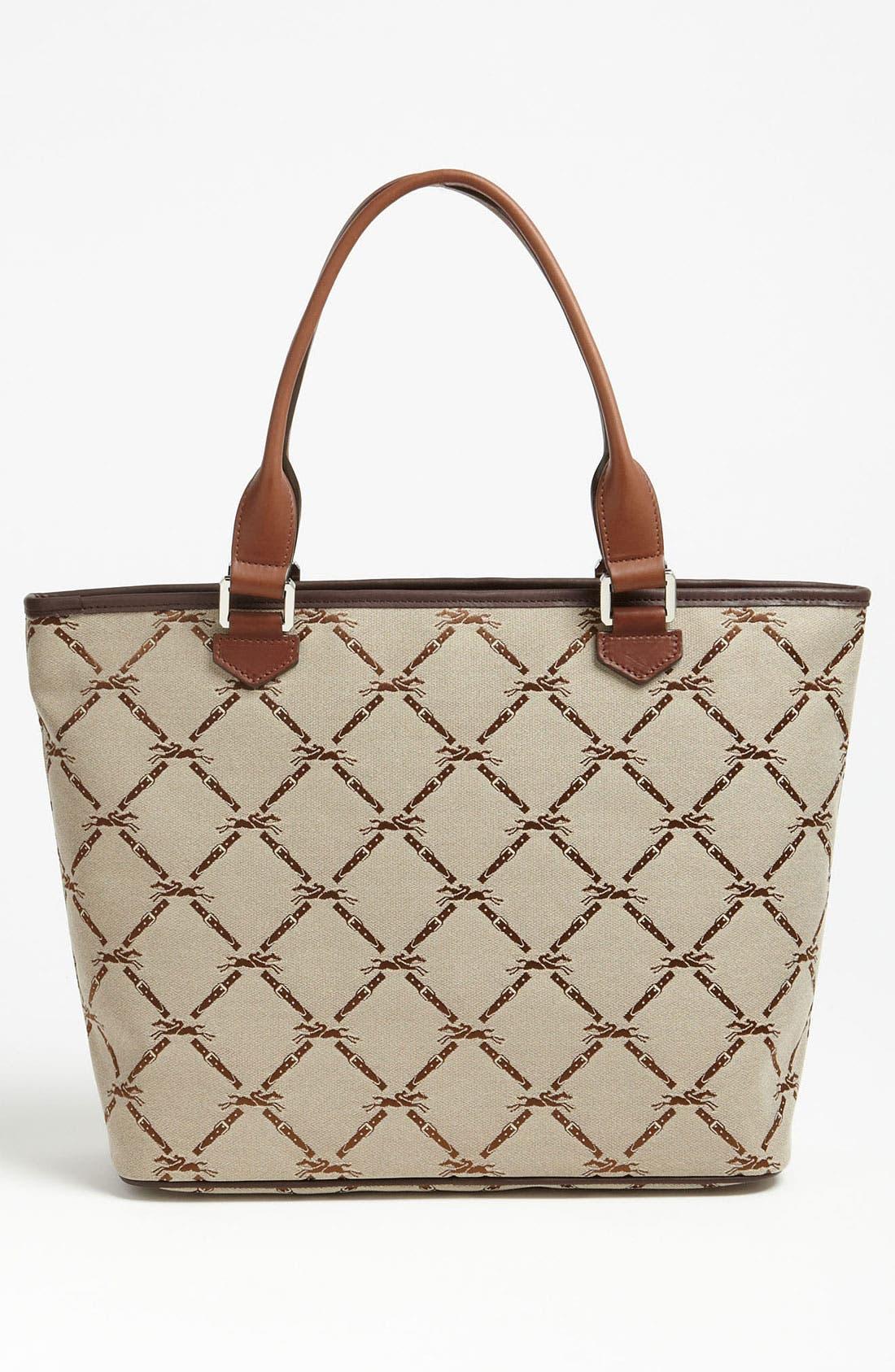 Alternate Image 4  - Longchamp 'LM Jacquard' Shoulder Bag