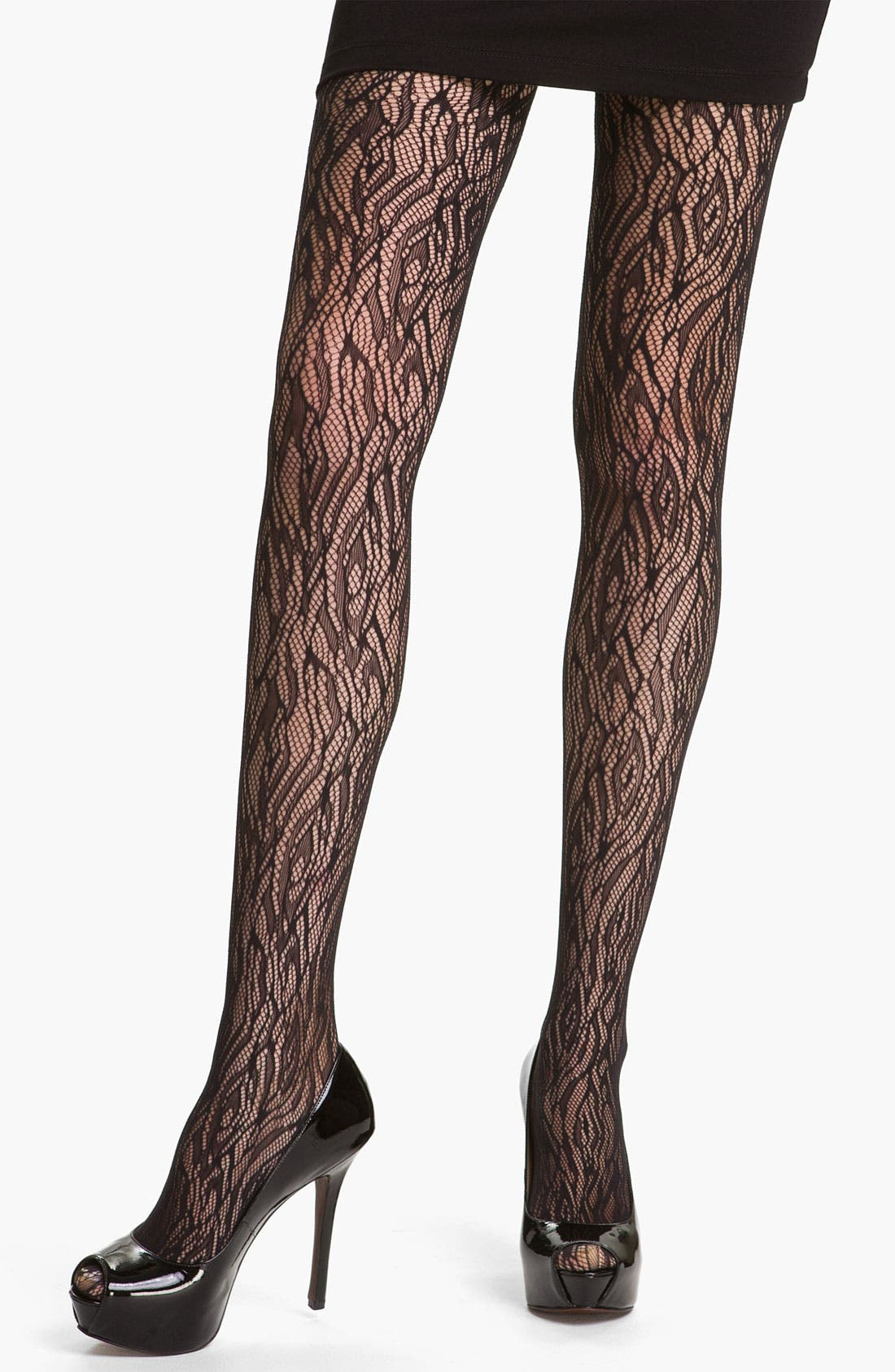 Alternate Image 1 Selected - Wolford 'Fire' Net Tights