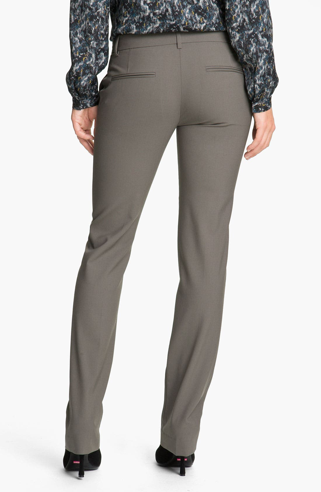 Alternate Image 2  - Theory 'Nabiki - Tailor' Wool Pants