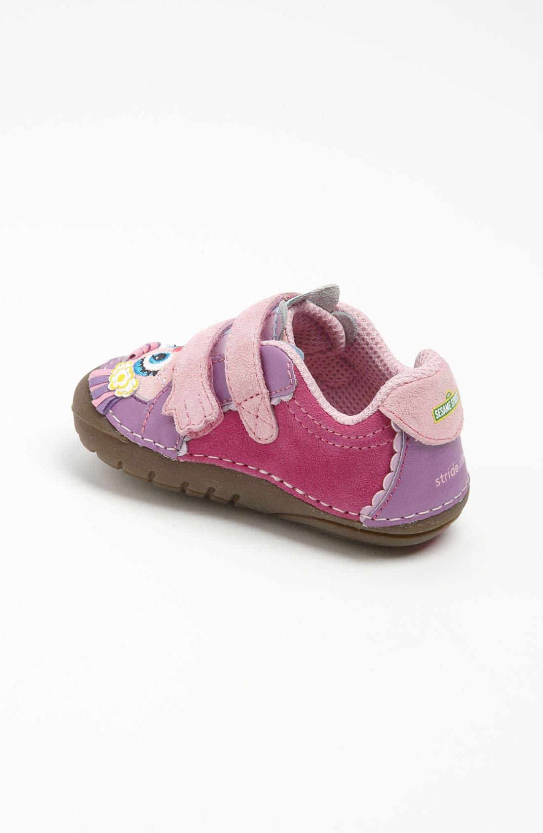 Alternate Image 2  - Stride Rite 'Sesame Street® - Abby Cadaby' Sneaker (Baby & Walker)
