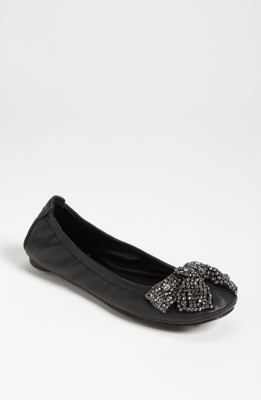 Alternate Image 1 Selected - Tory Burch 'Eddie' Bow Flat