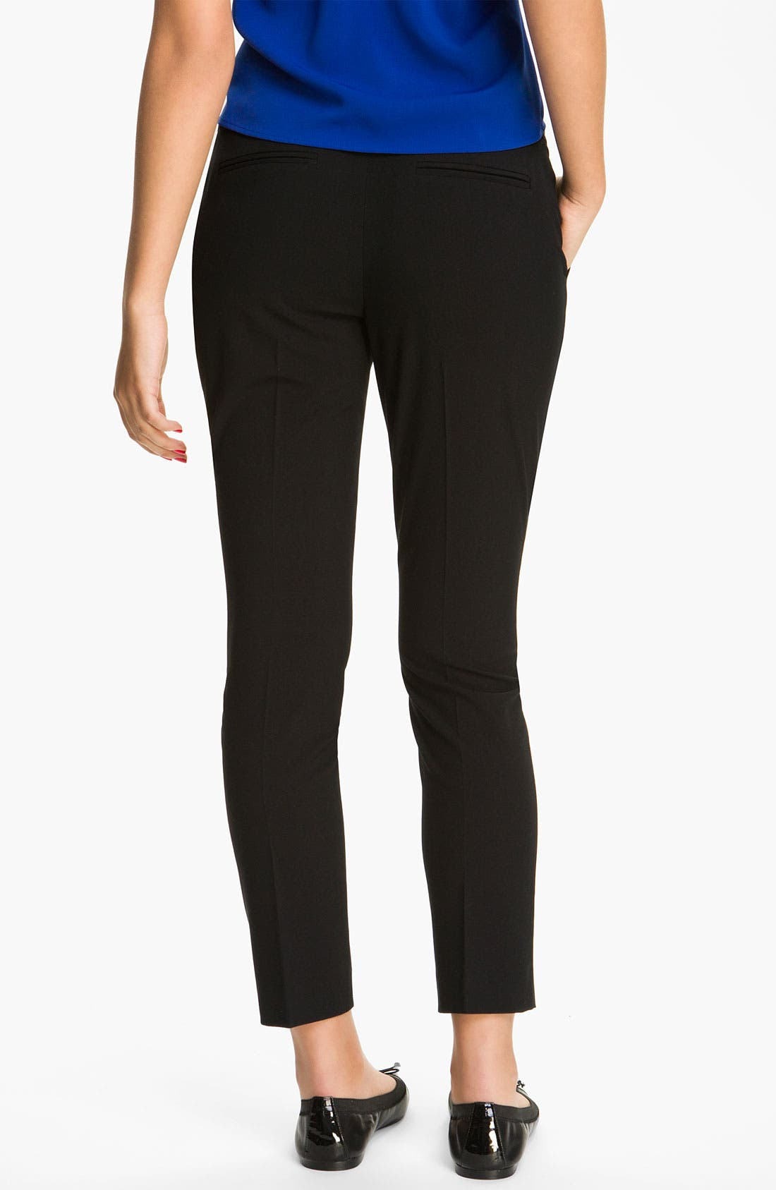Alternate Image 2  - BP. Slim Ankle Pants (Juniors)