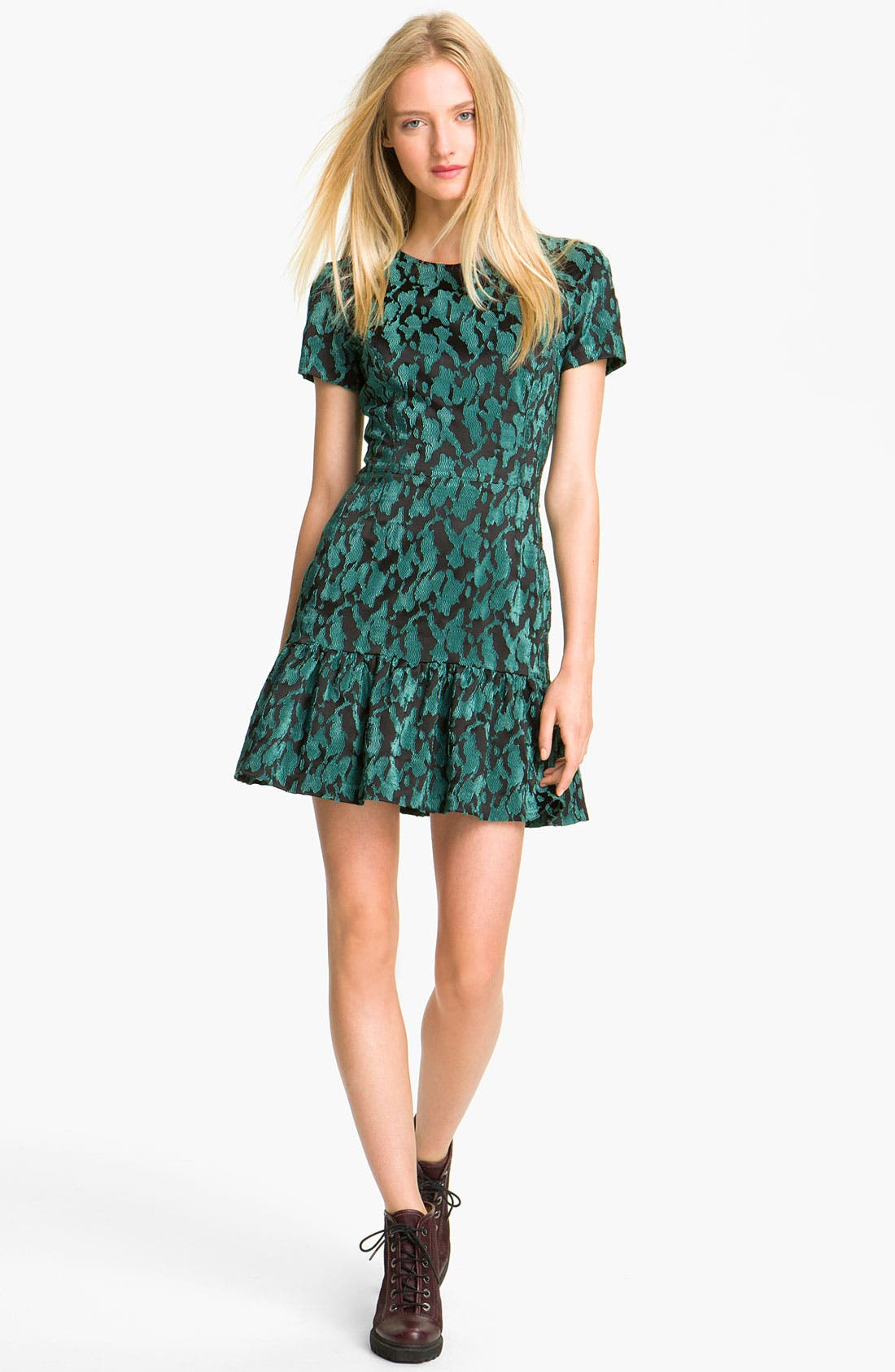 Main Image - Opening Ceremony Ruffled T-Shirt Dress
