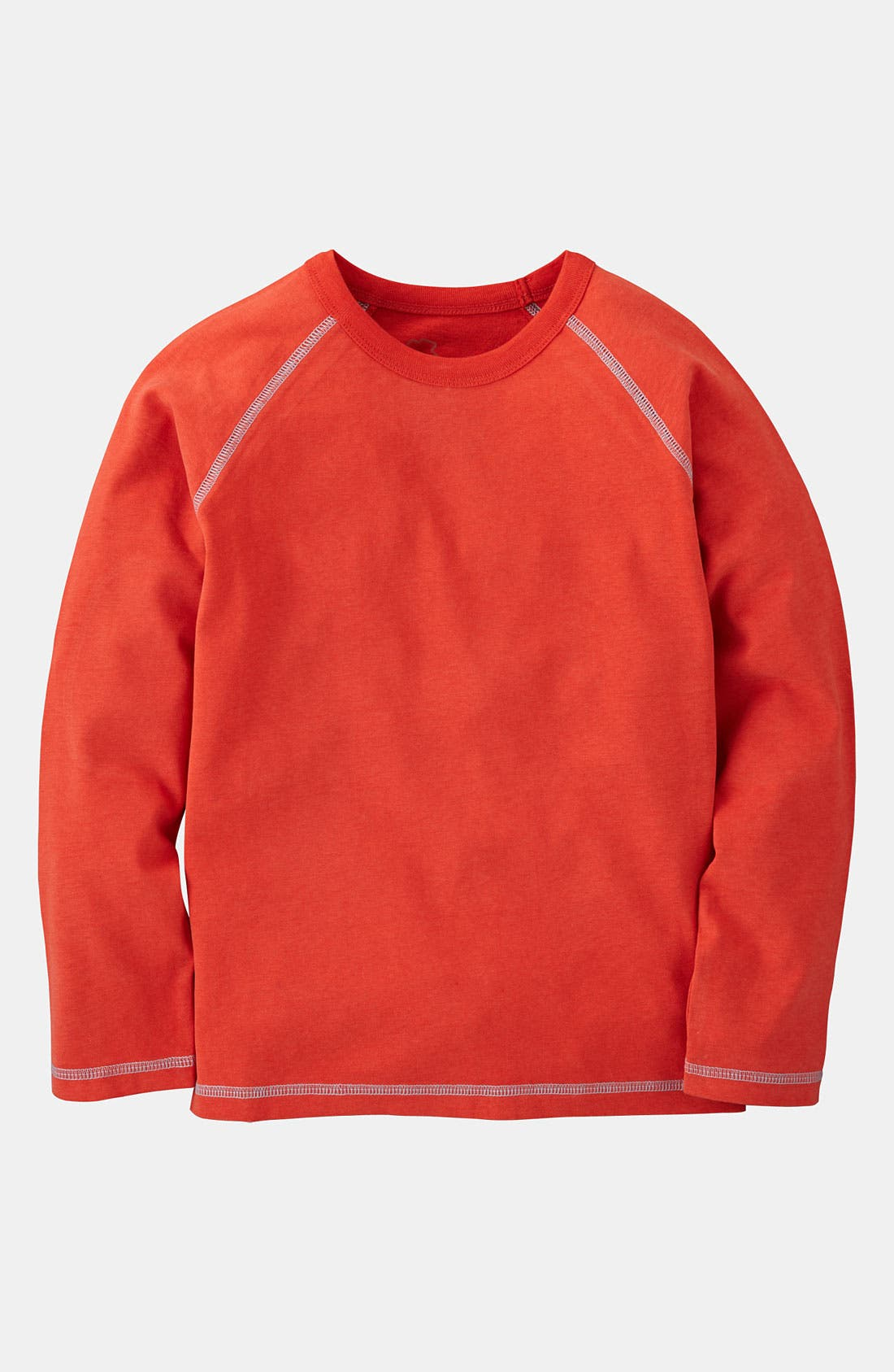 Main Image - Mini Boden Contrast Stitch T-Shirt (Toddler)