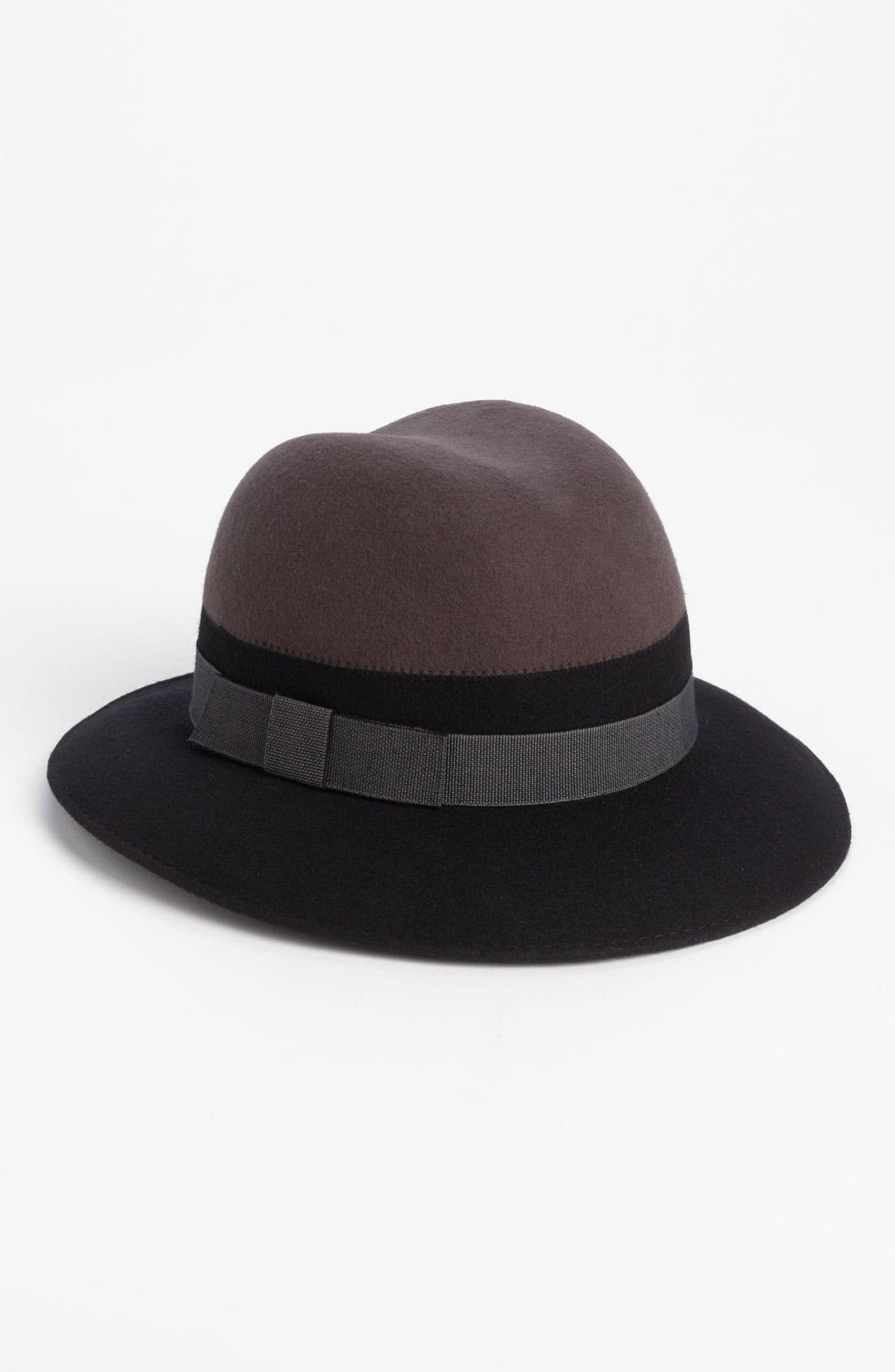 Alternate Image 1 Selected - Nordstrom Colorblock Fedora