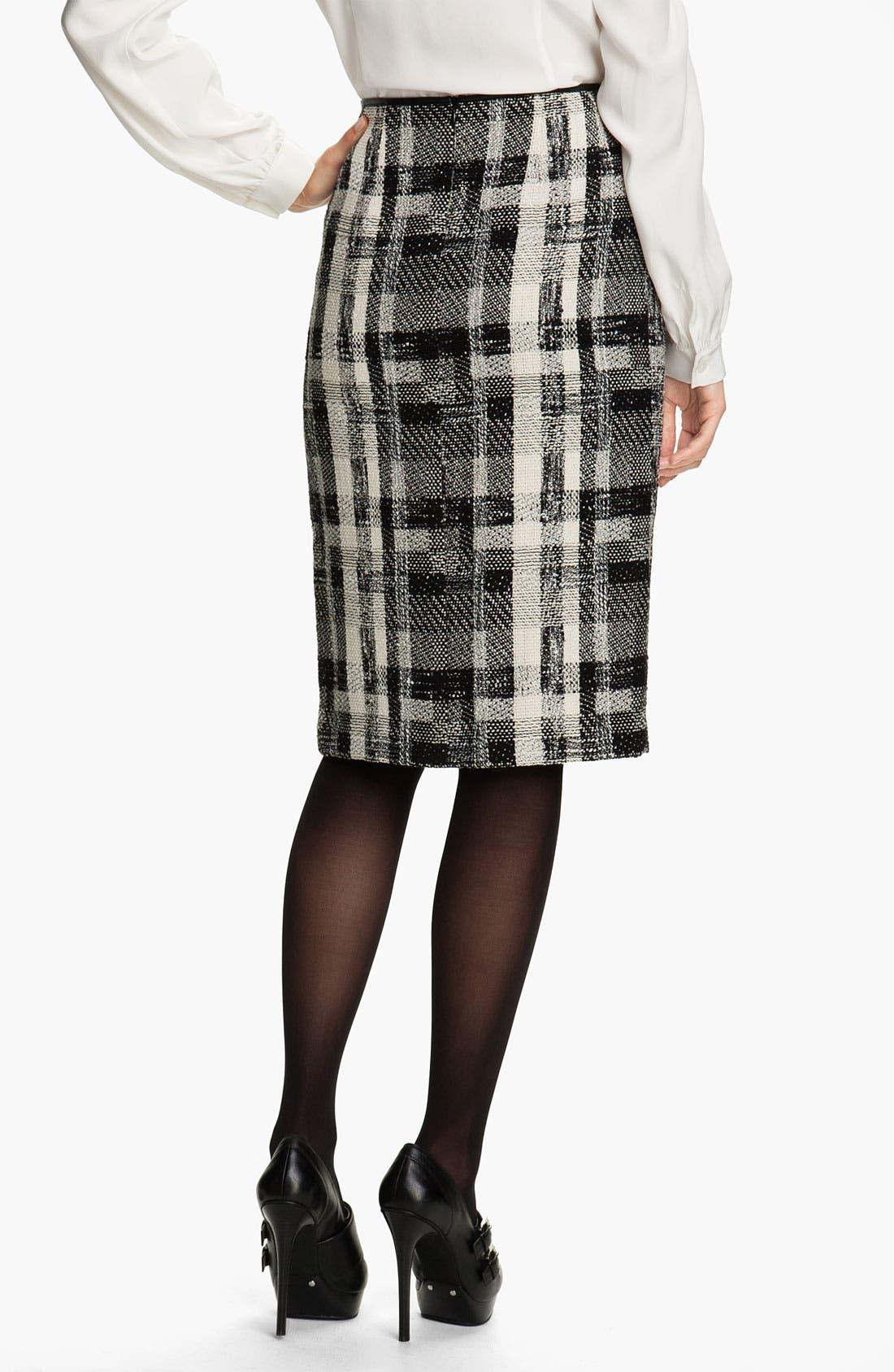 Alternate Image 2  - Lafayette 148 New York Fragmented Tweed Skirt