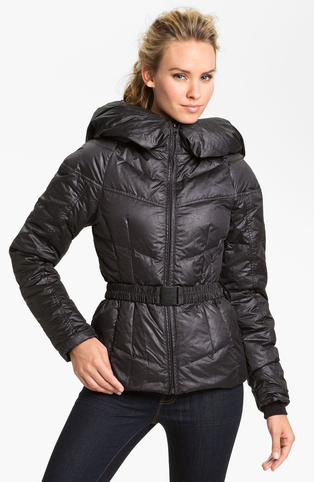 Alternate Image 1 Selected - The North Face 'Collar Back' Down Jacket