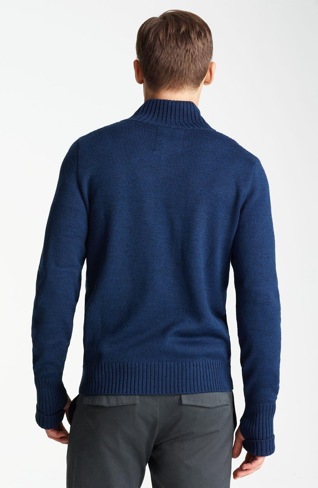 Alternate Image 2  - Field Scout Mock Collar Sweater