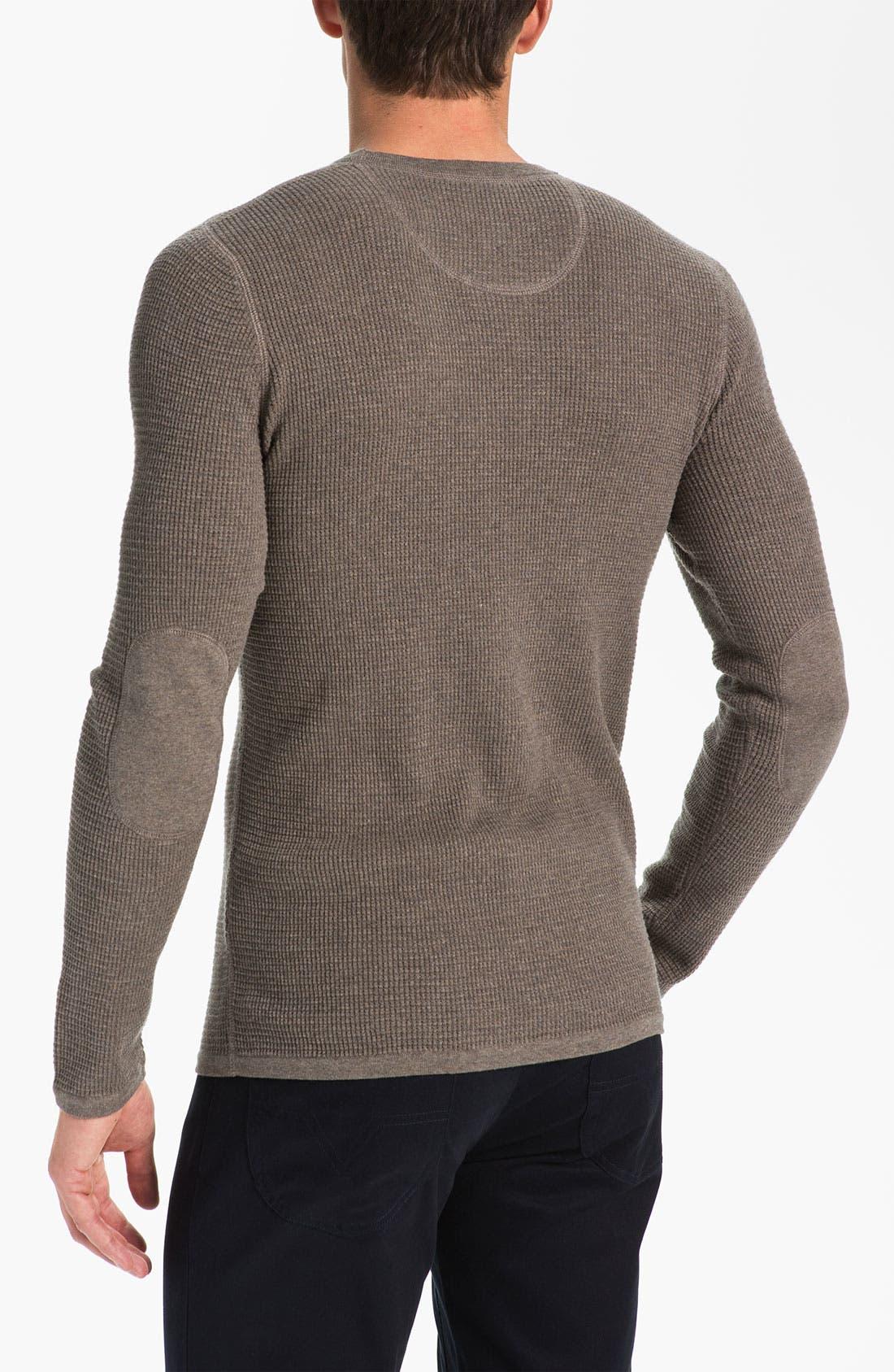 Alternate Image 2  - Vince Waffle Knit Sweater