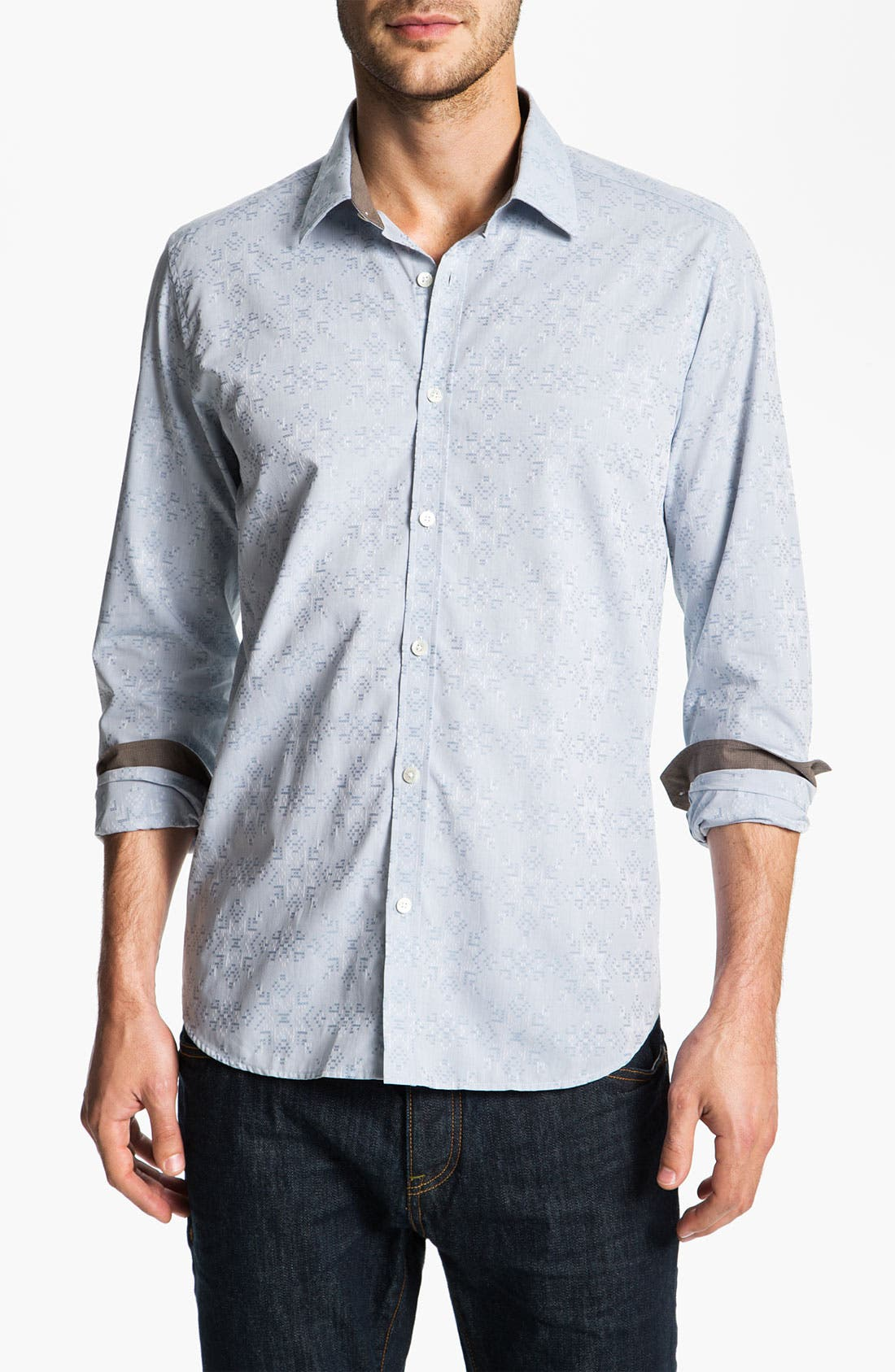 Alternate Image 1 Selected - Ted Baker London 'Piora' Sport Shirt