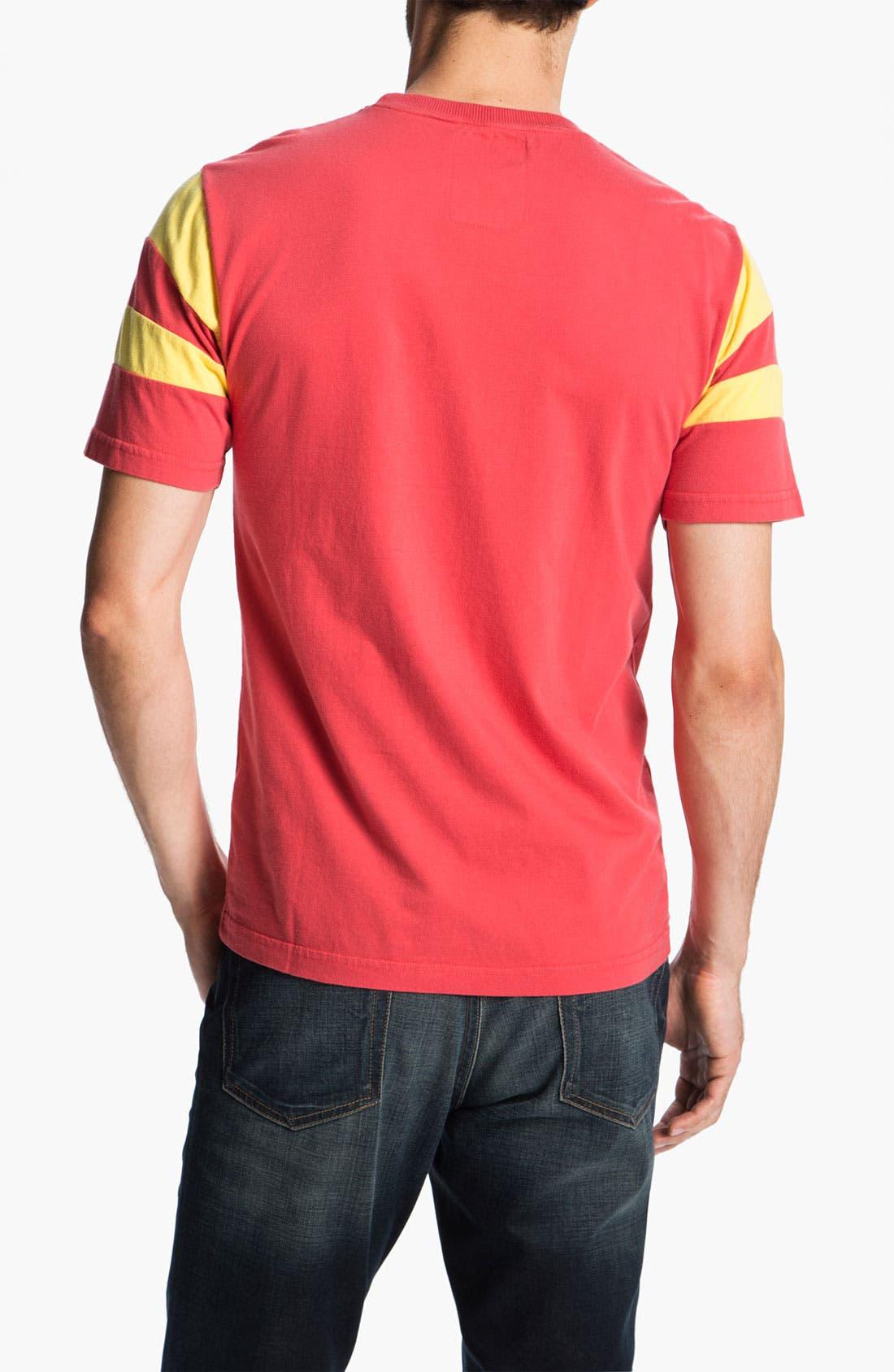 Alternate Image 2  - Red Jacket 'Len Dawson - Nickel' T-Shirt