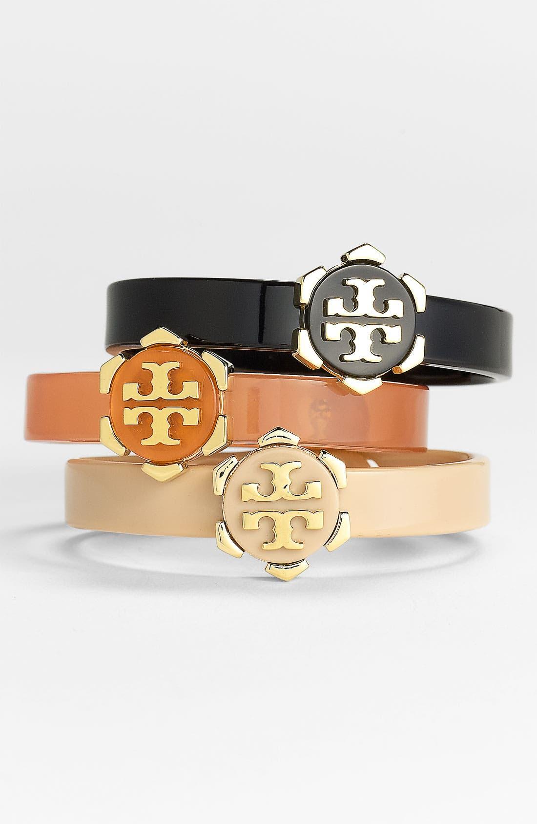 Alternate Image 1 Selected - Tory Burch 'Walter' Logo Bracelet